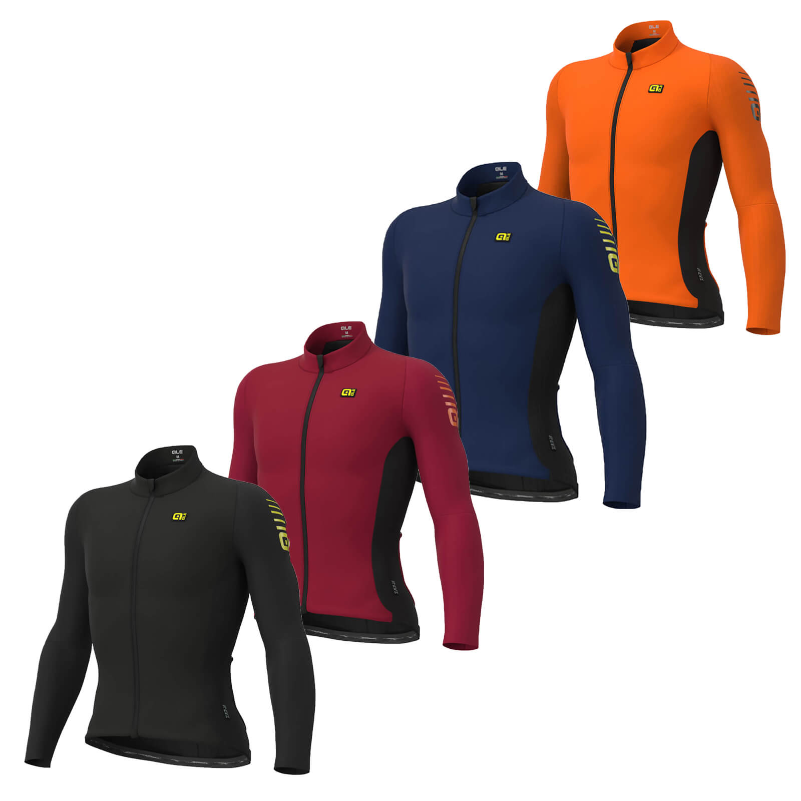 Alé Clima Protection 2.0 Warm Race Long Sleeve Jersey - XL - Masai Red