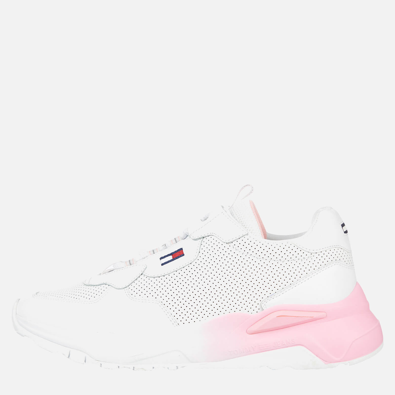 Tommy Jeans Women's Chunky Tech Gradient Running Style Trainers - White - UK 6.5