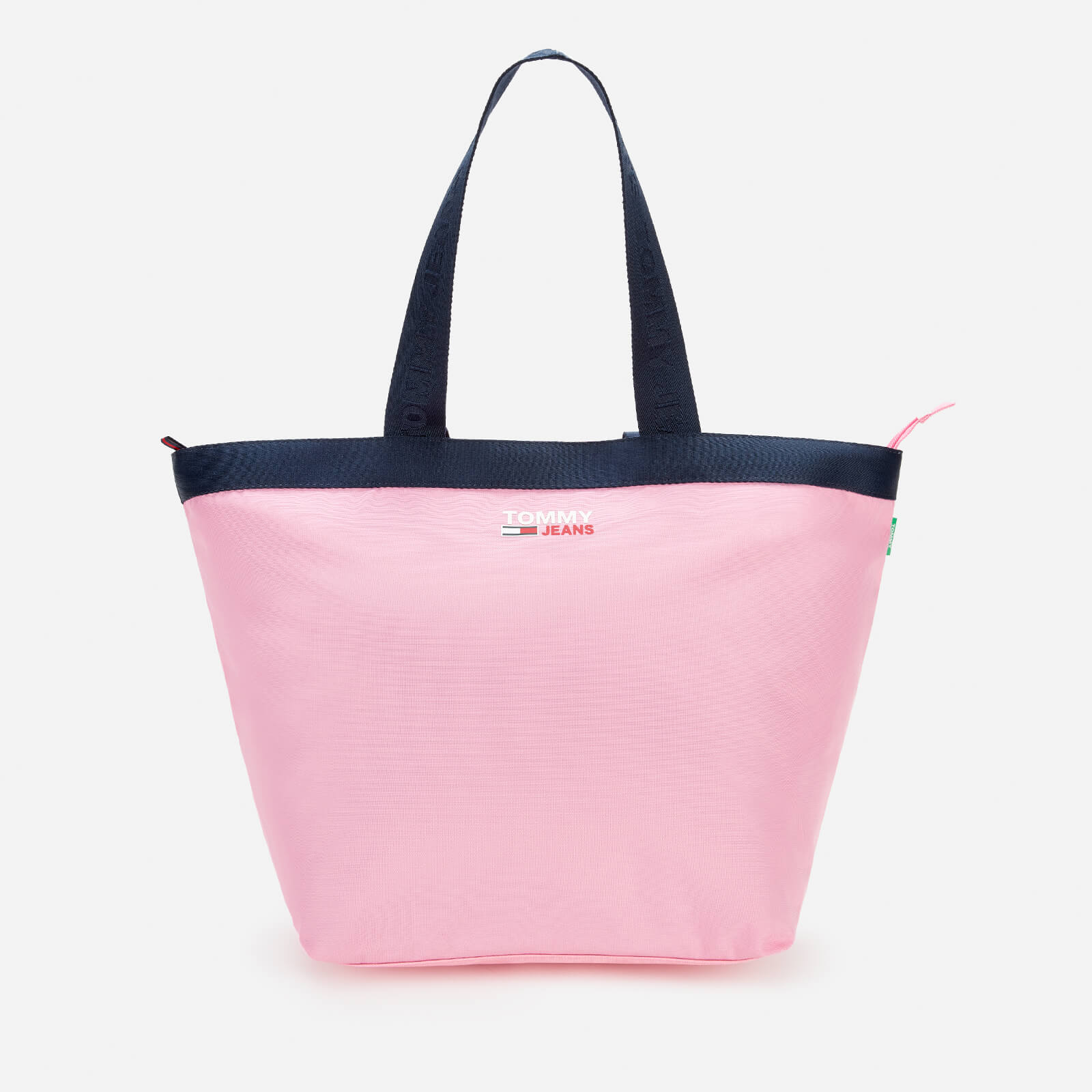 tommy jeans women's campus tote bag - pink daisy
