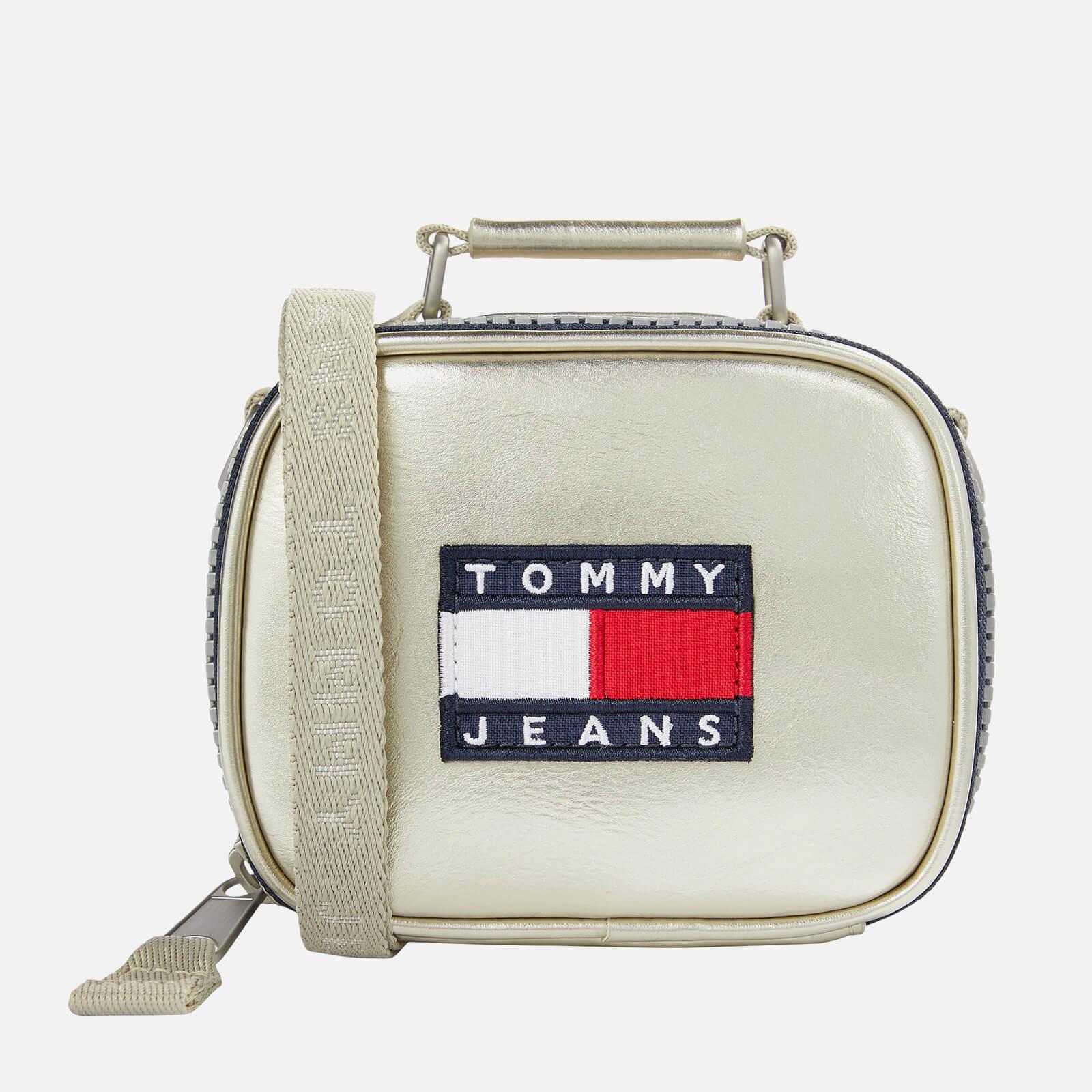 Tommy Jeans Women's Heritage Metallic Nano Bag - Silver