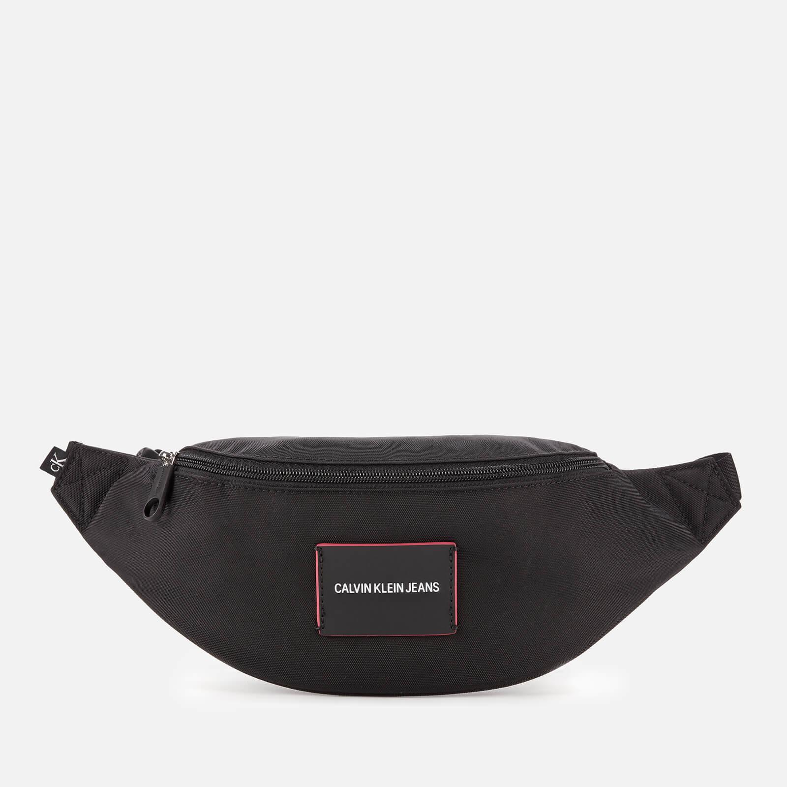 calvin klein jeans women's waist bag - black