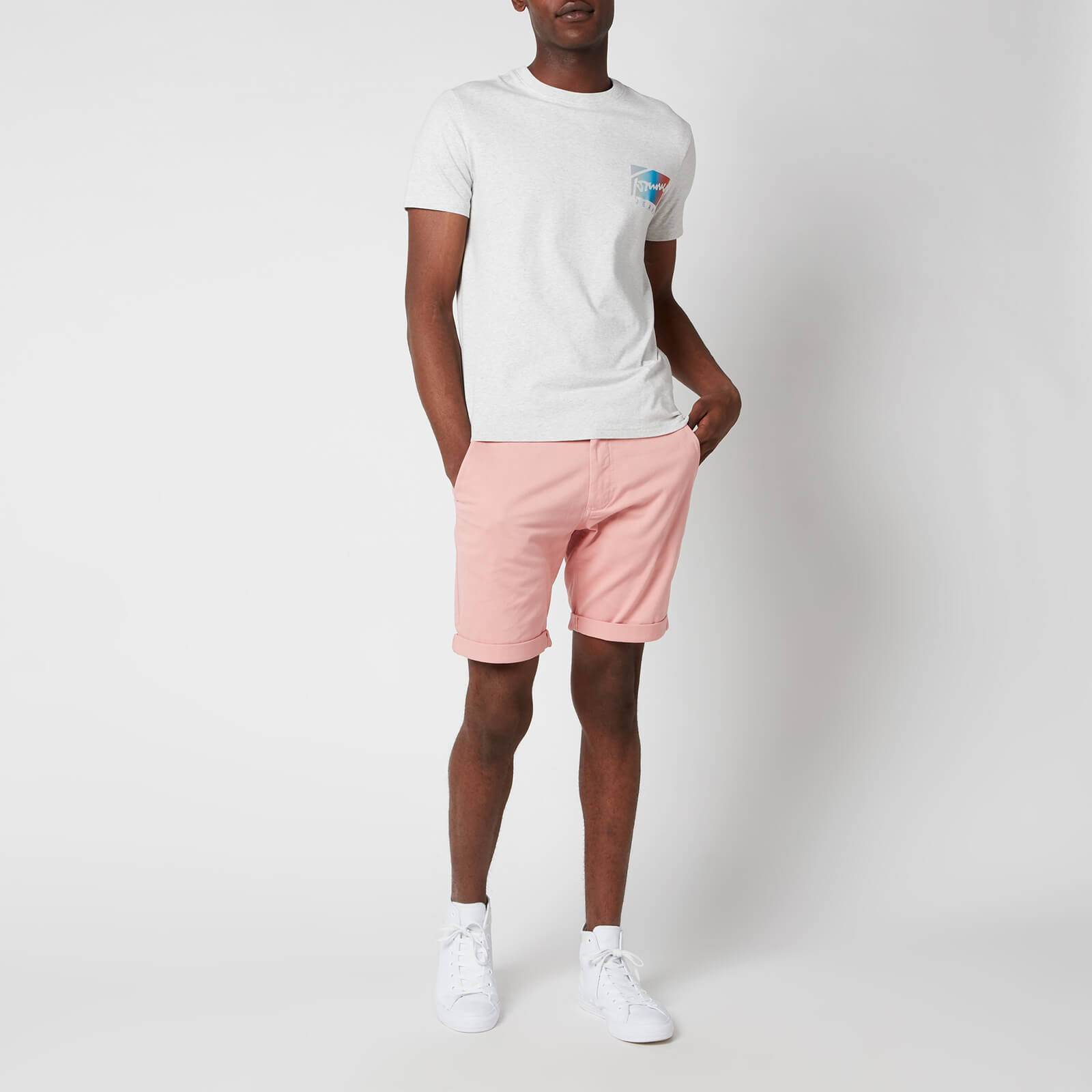 Tommy Jeans Men's Stanton Chino Shorts - Soothing Pink - W32