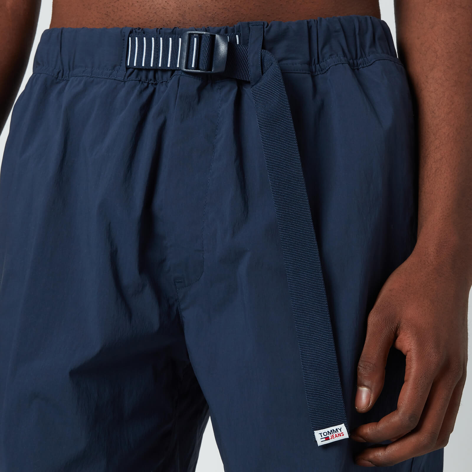 Tommy Jeans Men's Belted Beach Shorts - Twilight Navy - 30