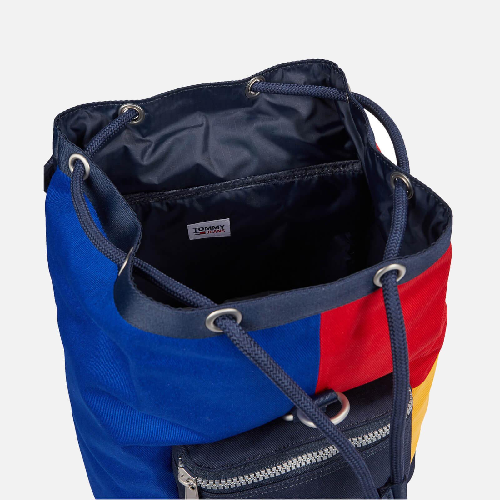 Tommy Jeans Men's Heritage Flap Backpack - Colour Block