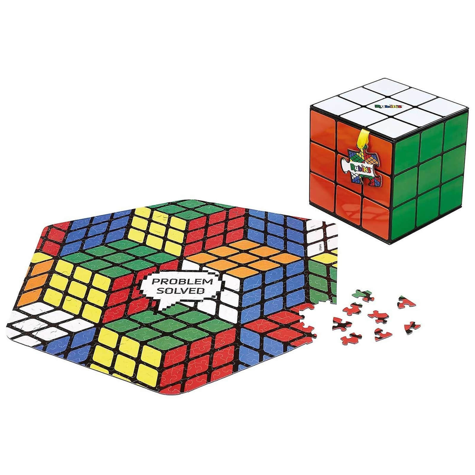Image of Rubik's Cube Jigsaw Puzzle - 500 Pieces