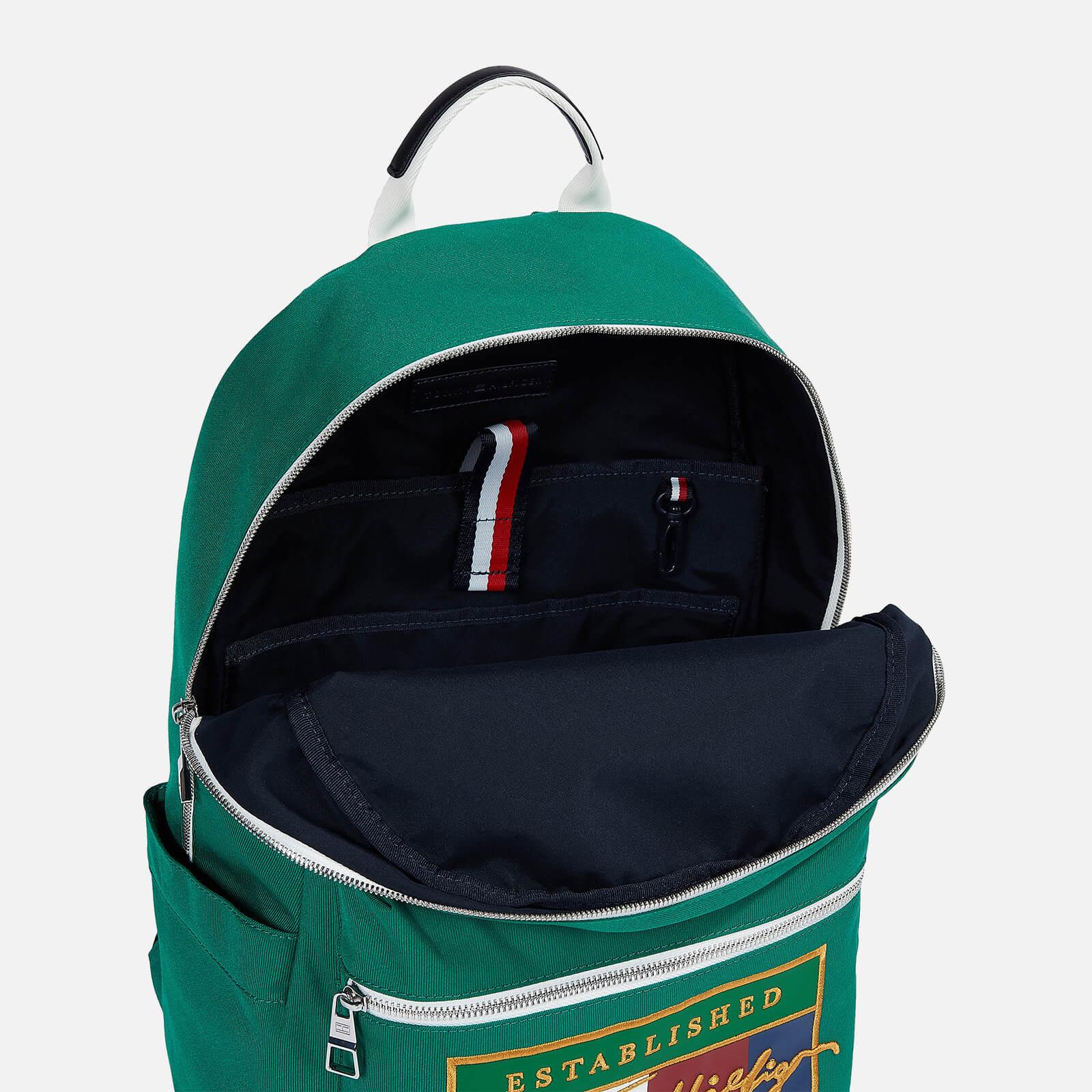 Tommy Hilfiger Men's Signature Flag Backpack - Rural Green
