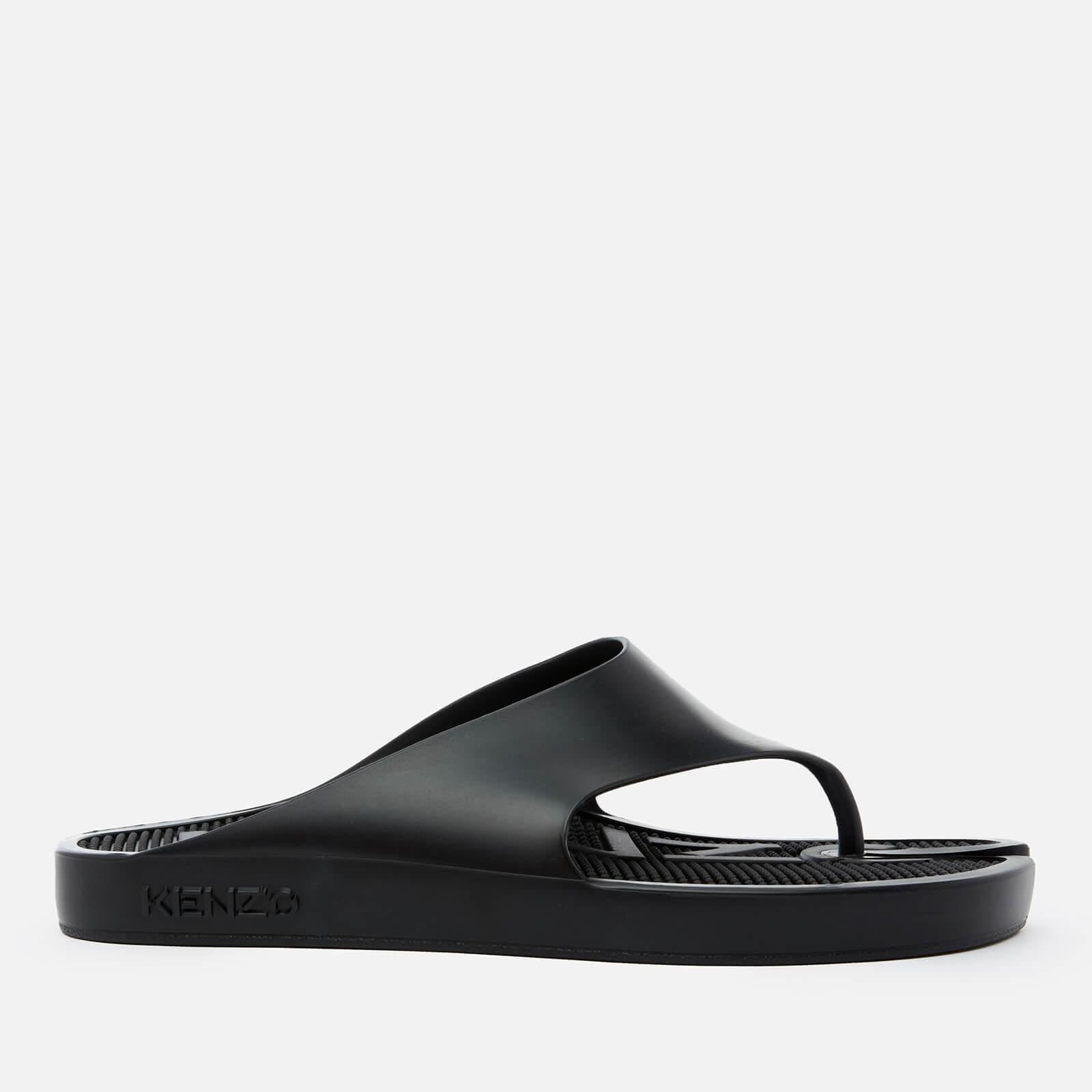 KENZO Men's New Flip Flops - Black - UK 7