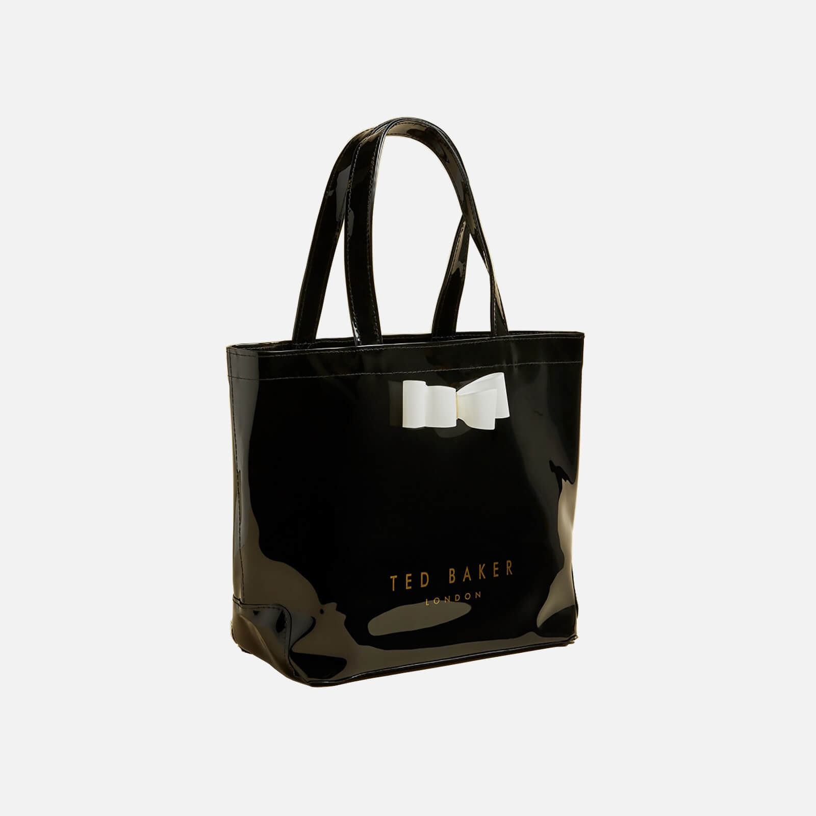ted baker women's haricon small tote bag - black