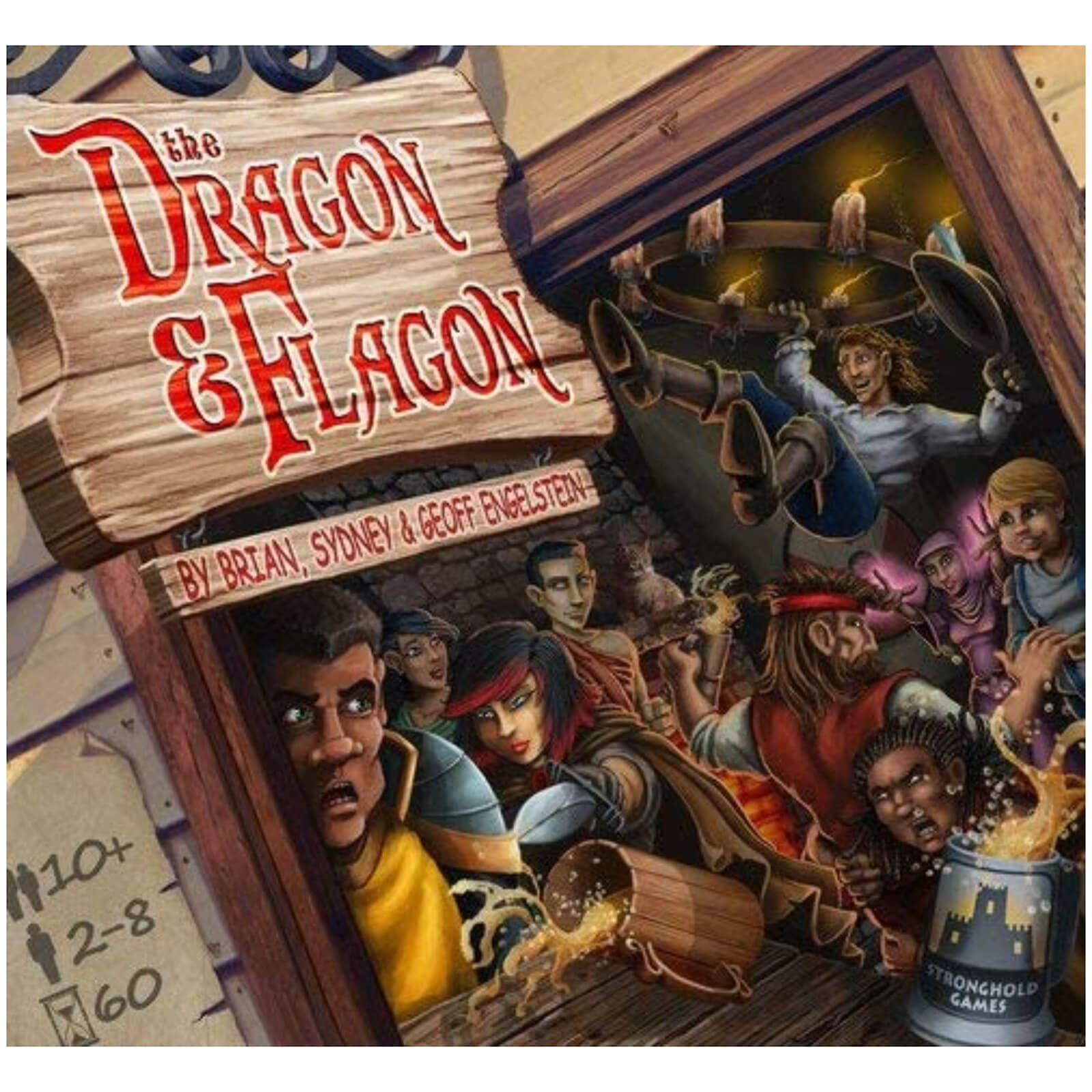 Image of Dragon and Flagon - Board & Card Game