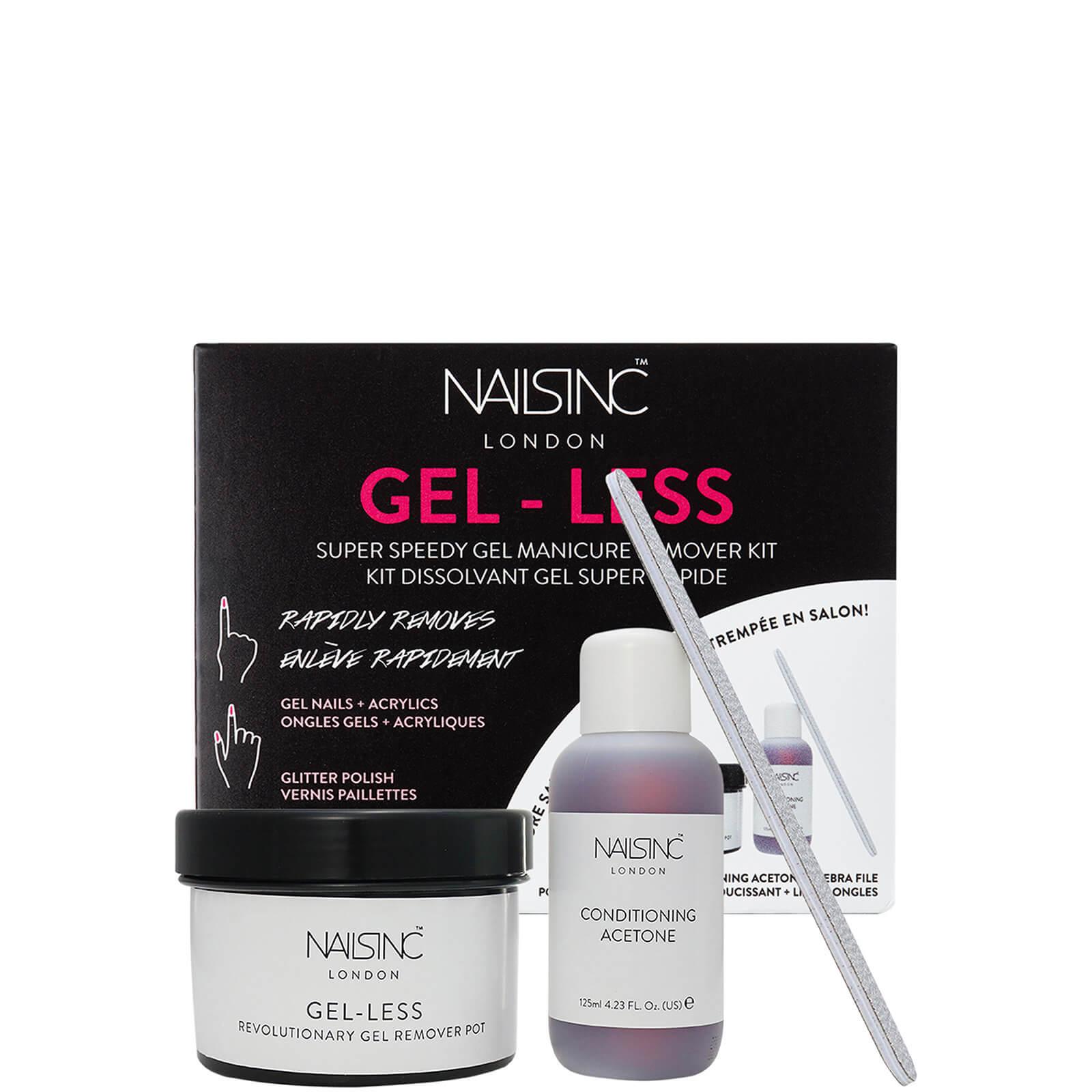 Купить Nails inc. Gel-Less Remover Pot