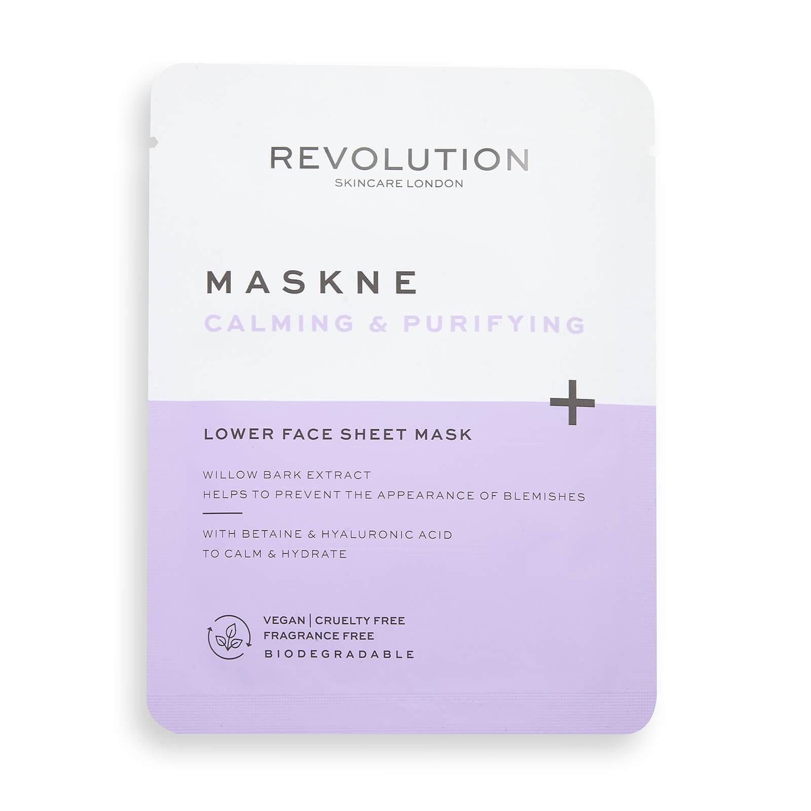 Купить Revolution Skincare Maskcare Maskne Calming & Purifying Lower Face Sheet Mask