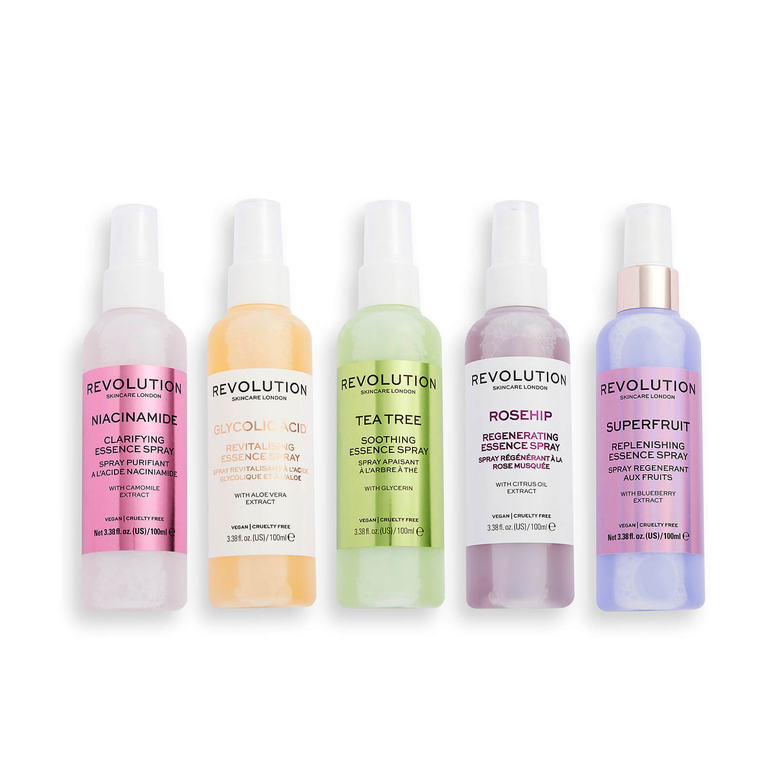 Revolution Skincare Spritz Like You Mean It Collection