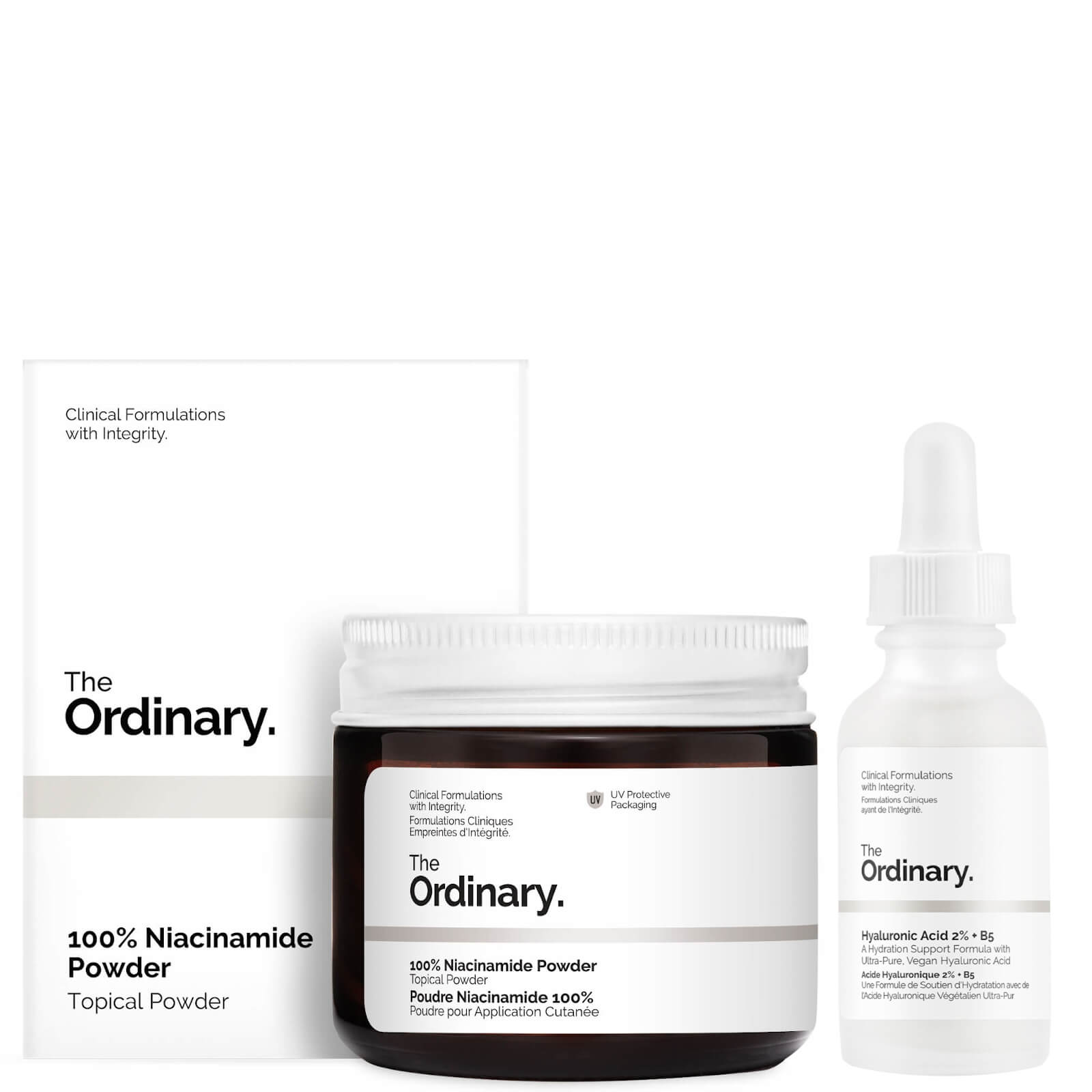 The Ordinary Refine and Hydrate Serum Set