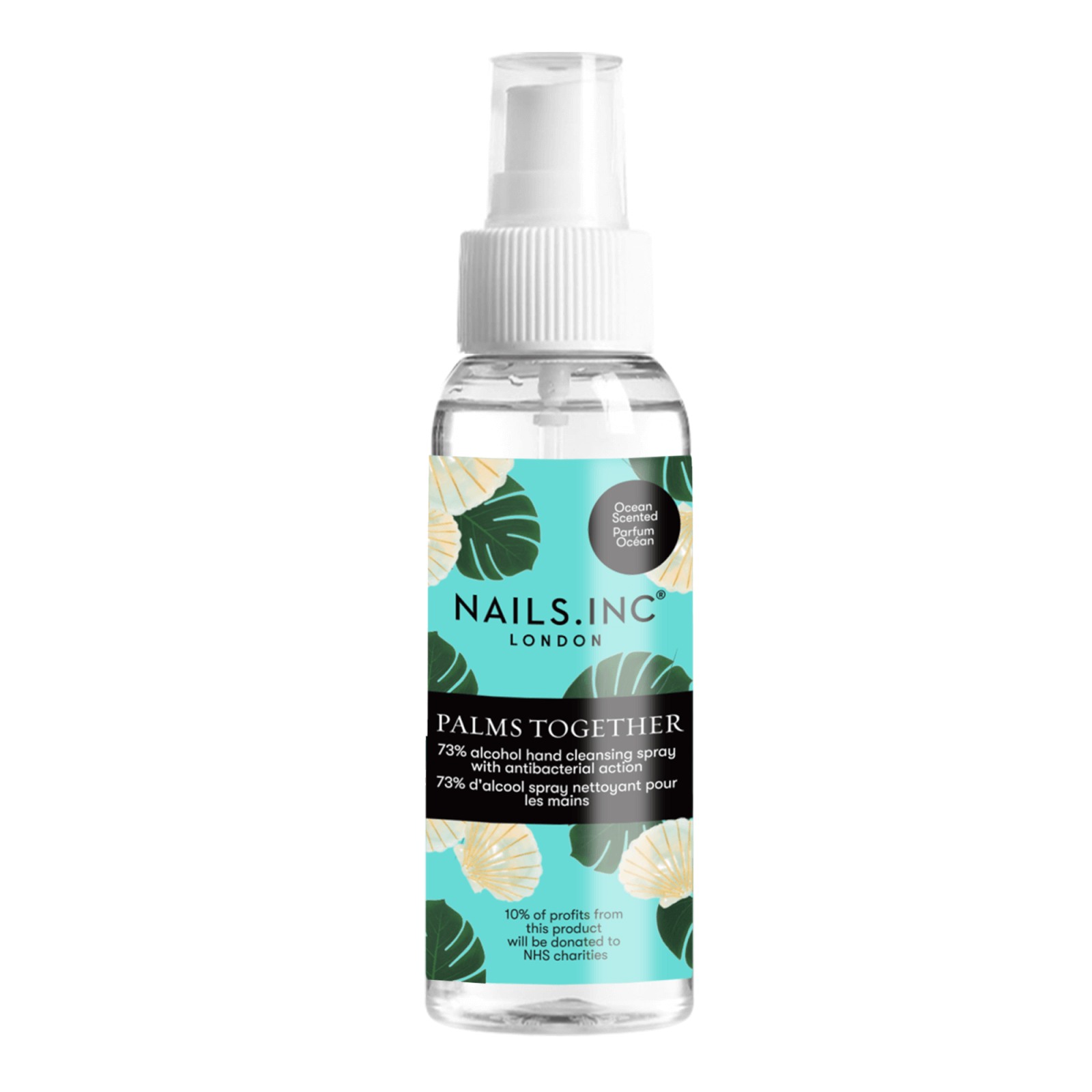 nails inc. Palms Together Cleansing Spray - Ocean Scent