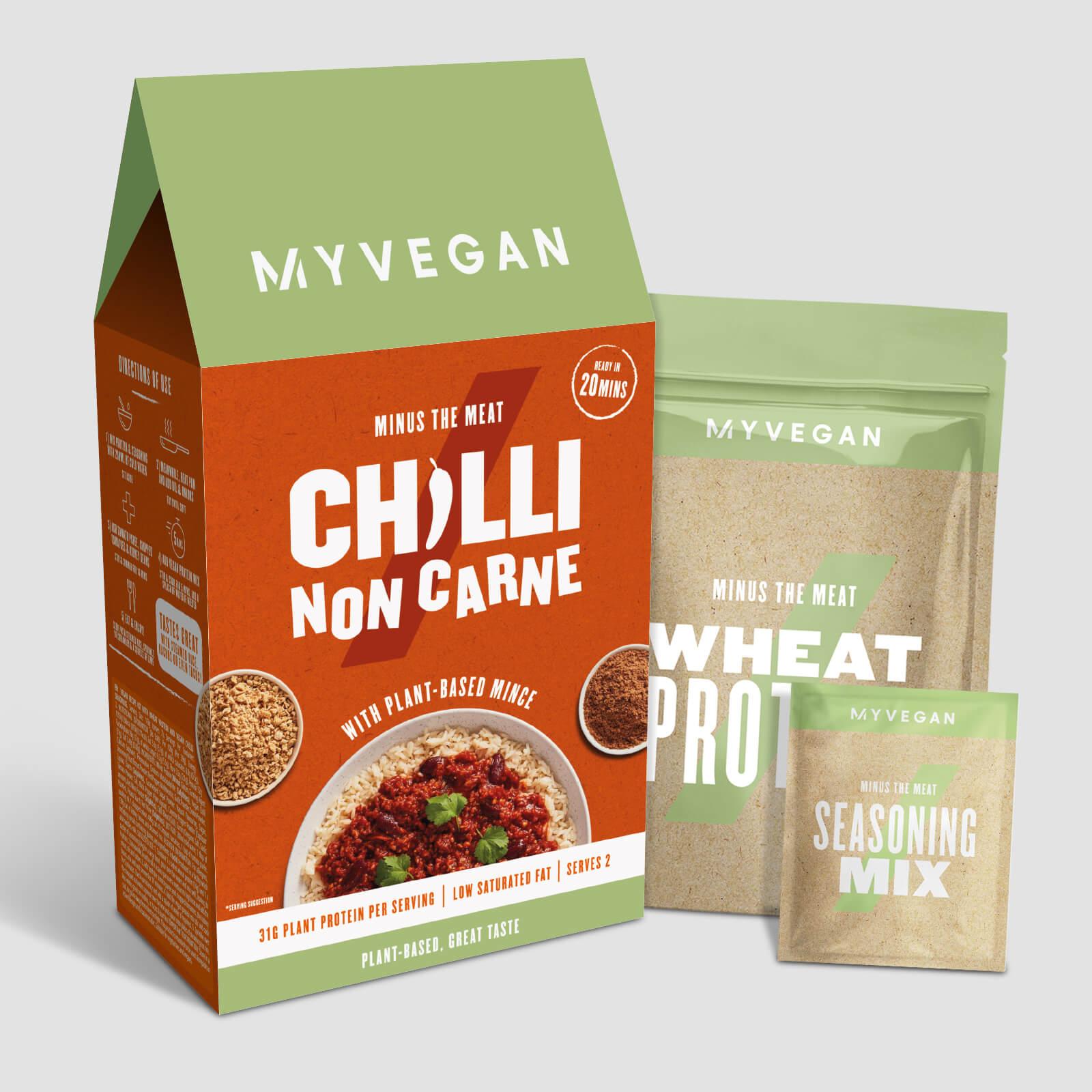 Vitamins & Supplements Vegan Chilli Non Carne Meal Kit - 2 x 59g