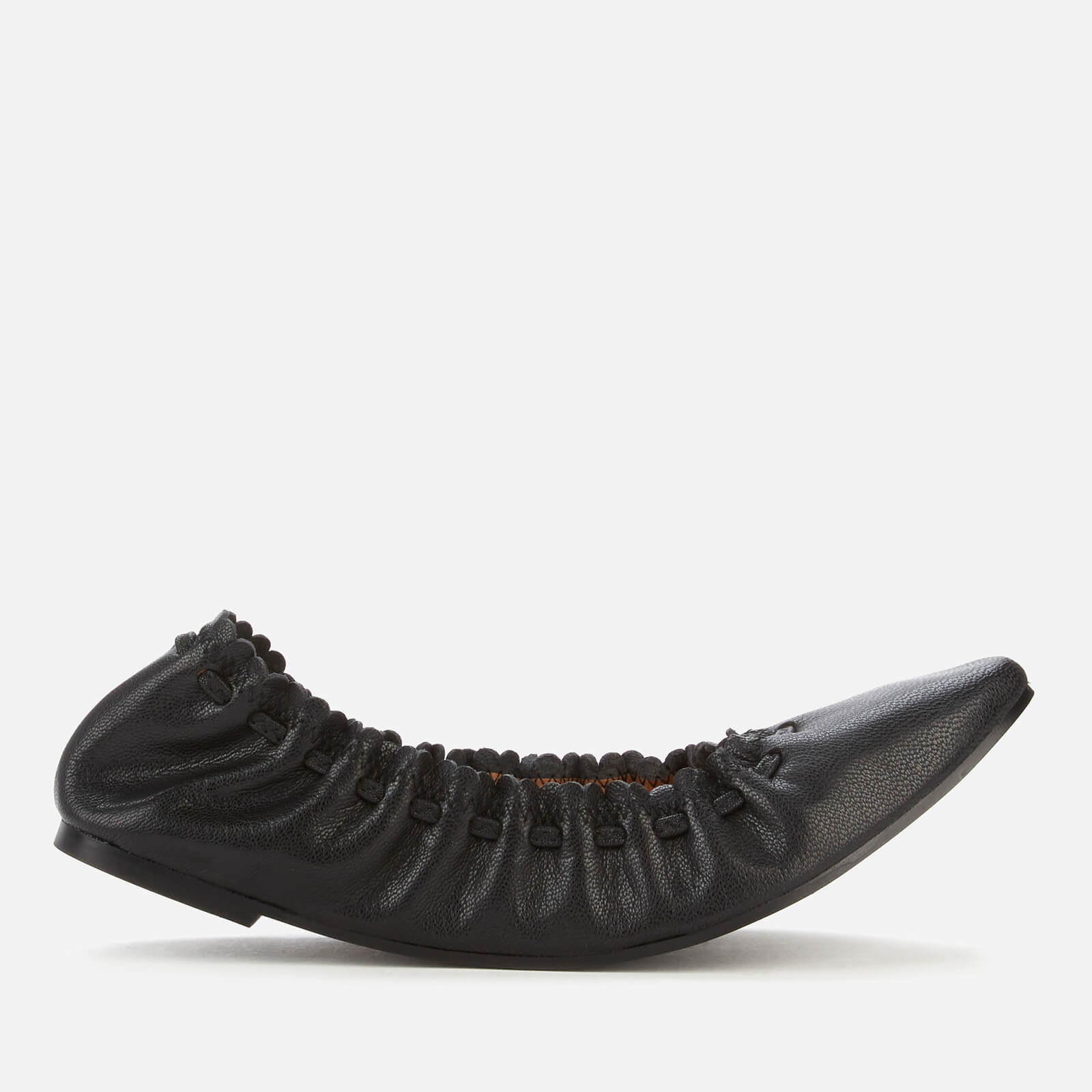 See By Chloé Women's Jane Leather Ballet Flats - Black - UK 7