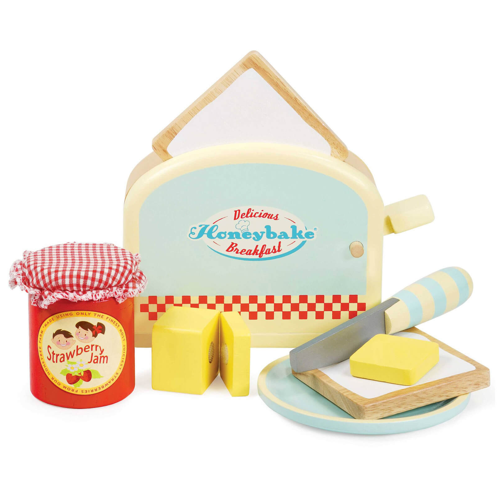 Le Toy Van Honeybake Toaster and Toast