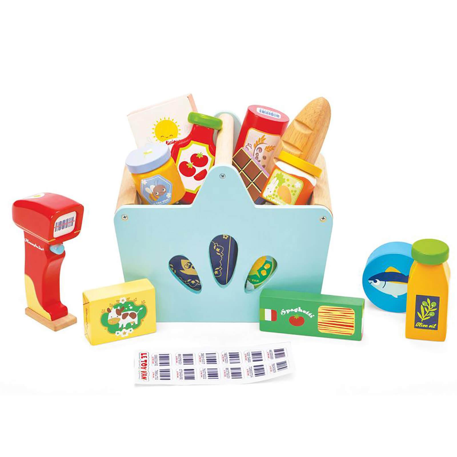 Le Toy Van Honeybake Groceries Set and Scanner