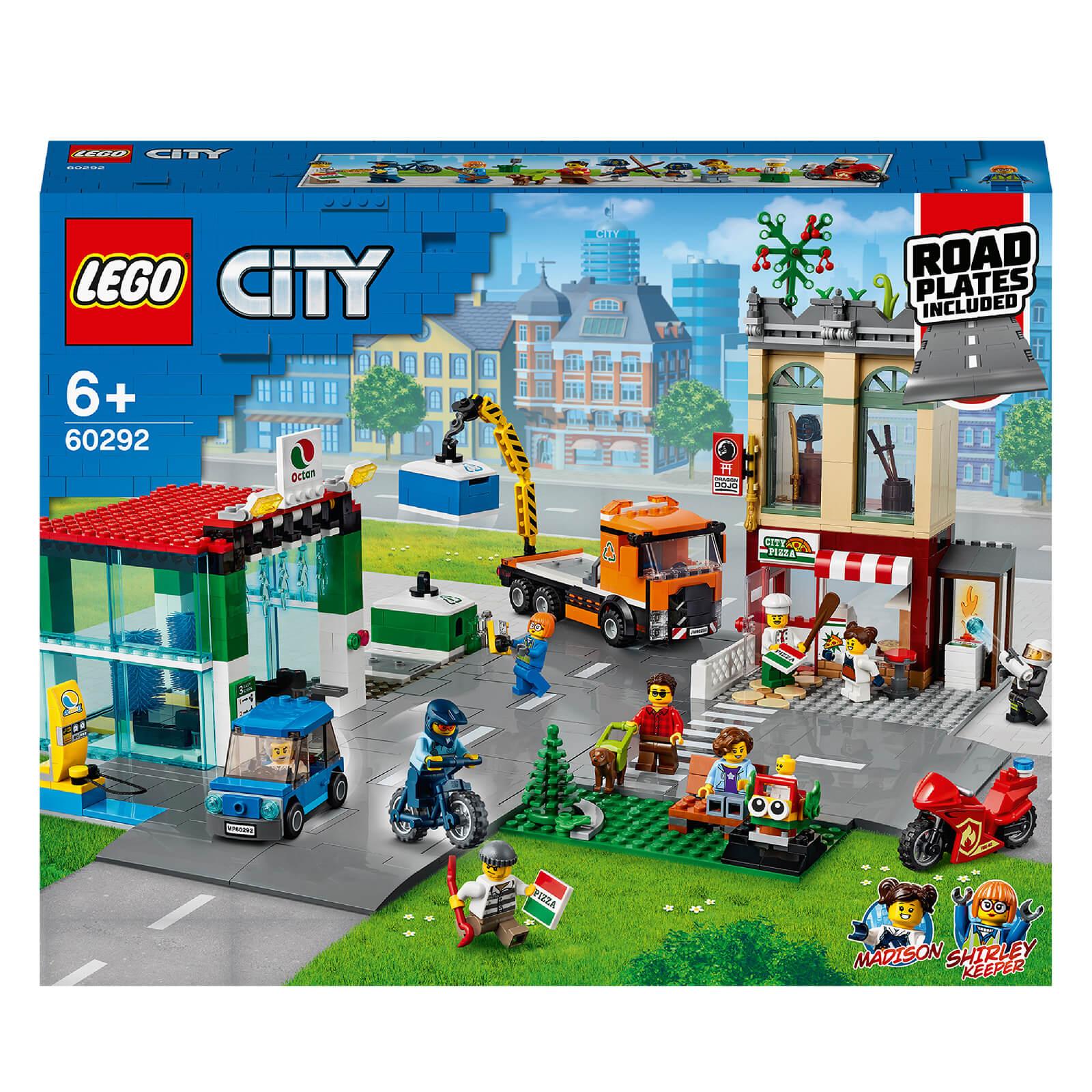 Image of Lego City Town Center Construction Set
