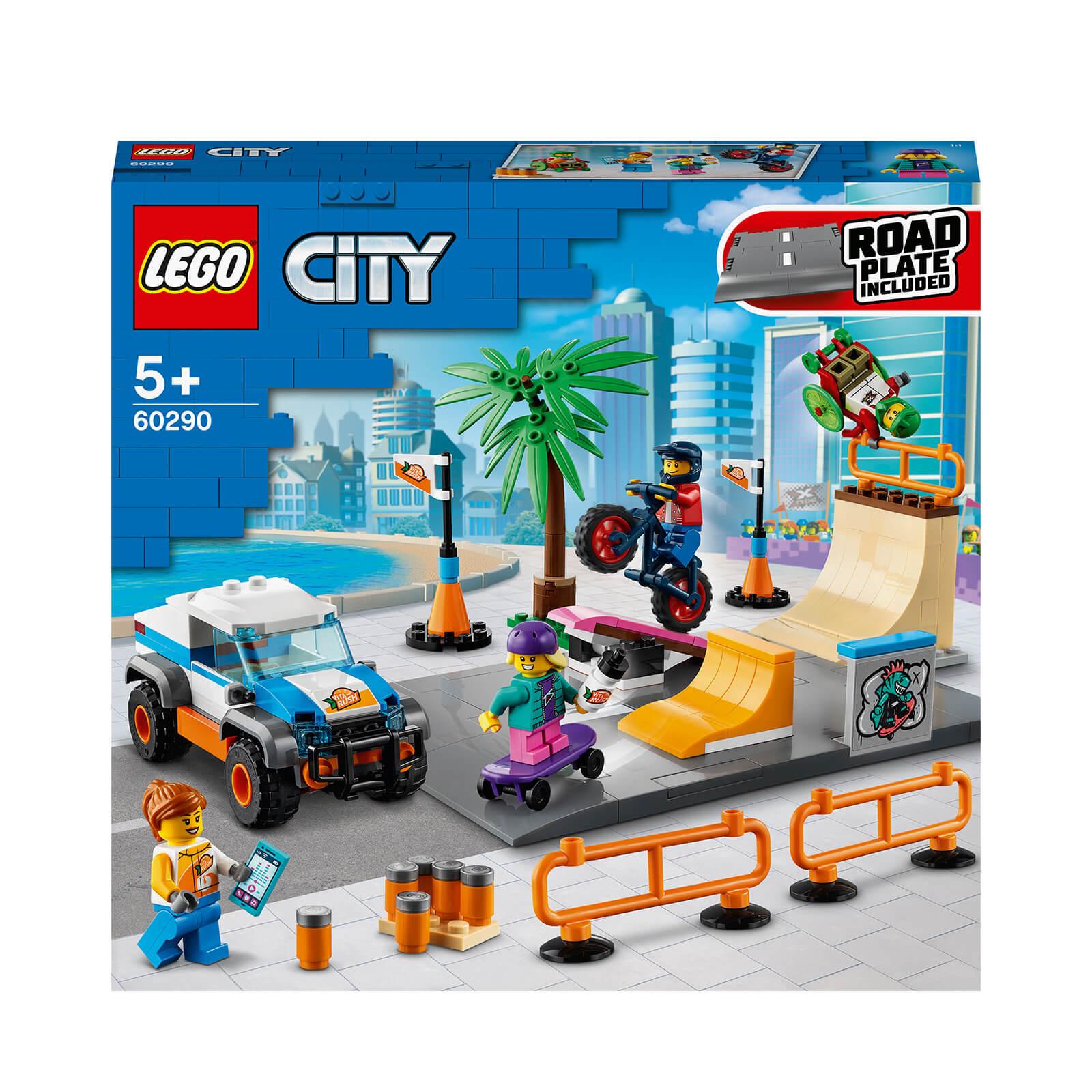 Image of LEGO City Community Skate Park - 60290