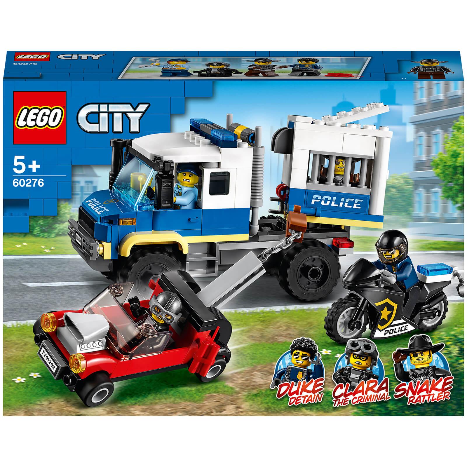 Image of LEGO City Police Prisoner Transport - 60276