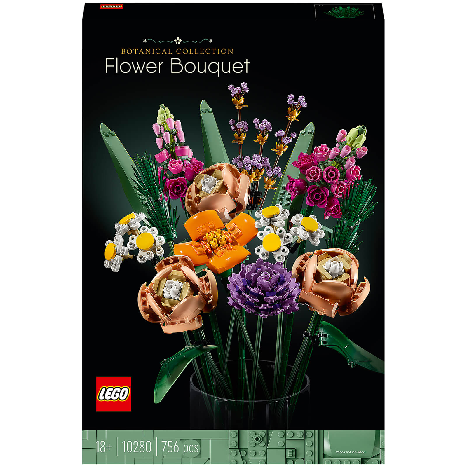 LEGO Creator: Expert Flower Bouquet Set for Adults (10280)
