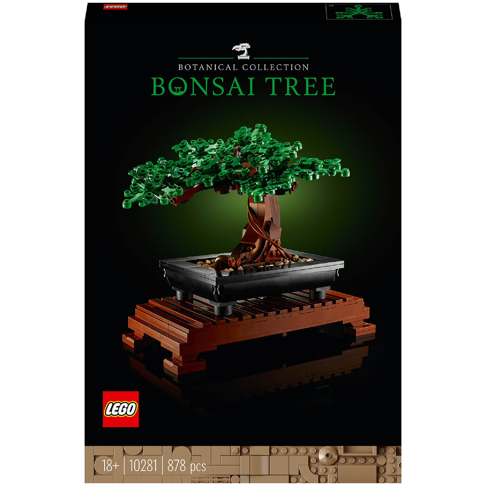 Image of LEGO Creator: Expert Bonsai Tree Set for Adults (10281)
