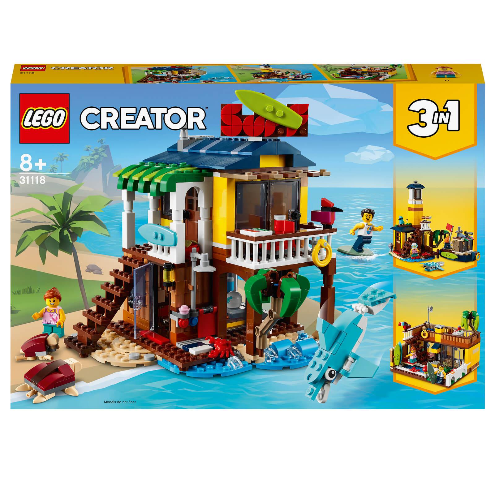 Image of LEGO Creator Surfer Beach House - 31118