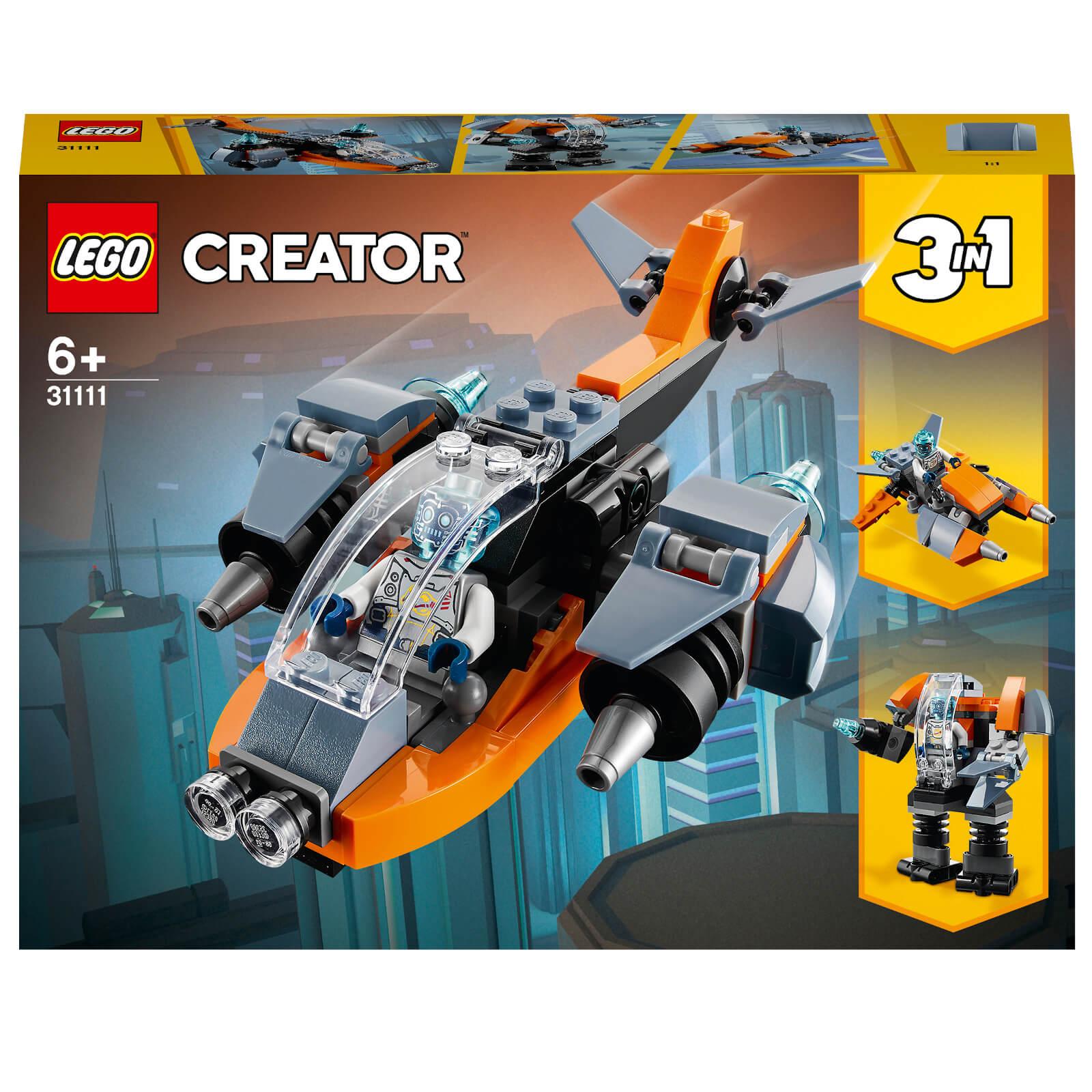 Image of LEGO Creator Cyber Drone - 31111