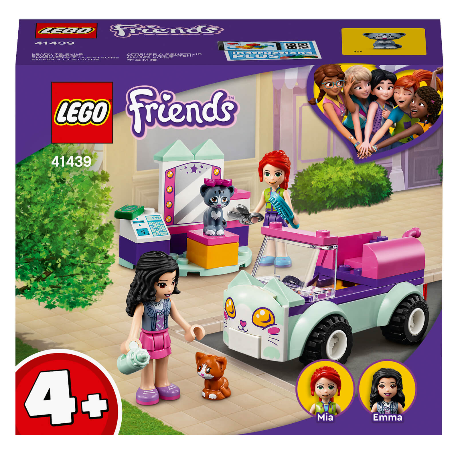 Image of LEGO Friends Cat Grooming Car - 41439