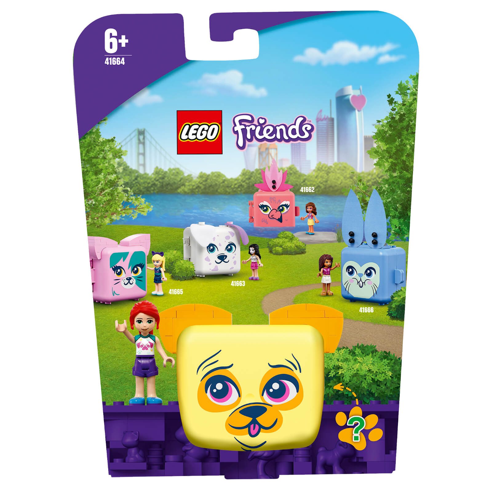 Image of LEGO Friends Mia's Pug Cube - 41664