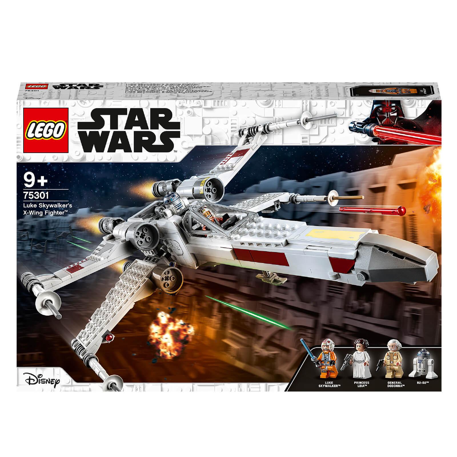 Image of LEGO Star Wars: Luke Skywalker's X-Wing Fighter Toy (75301)