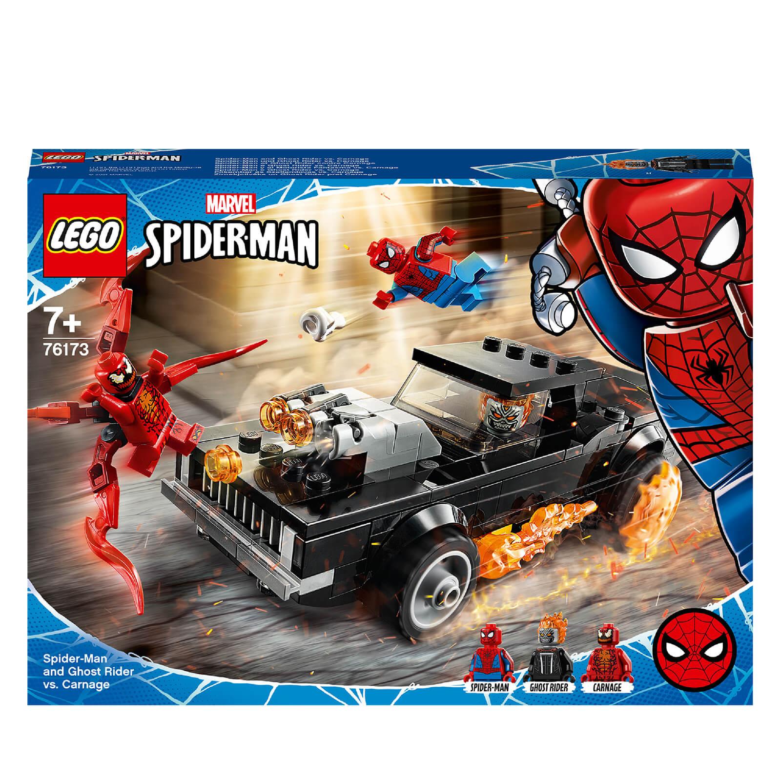 LEGO Marvel Spider Man & Ghost Rider Vs. Carnage Toy (76173)