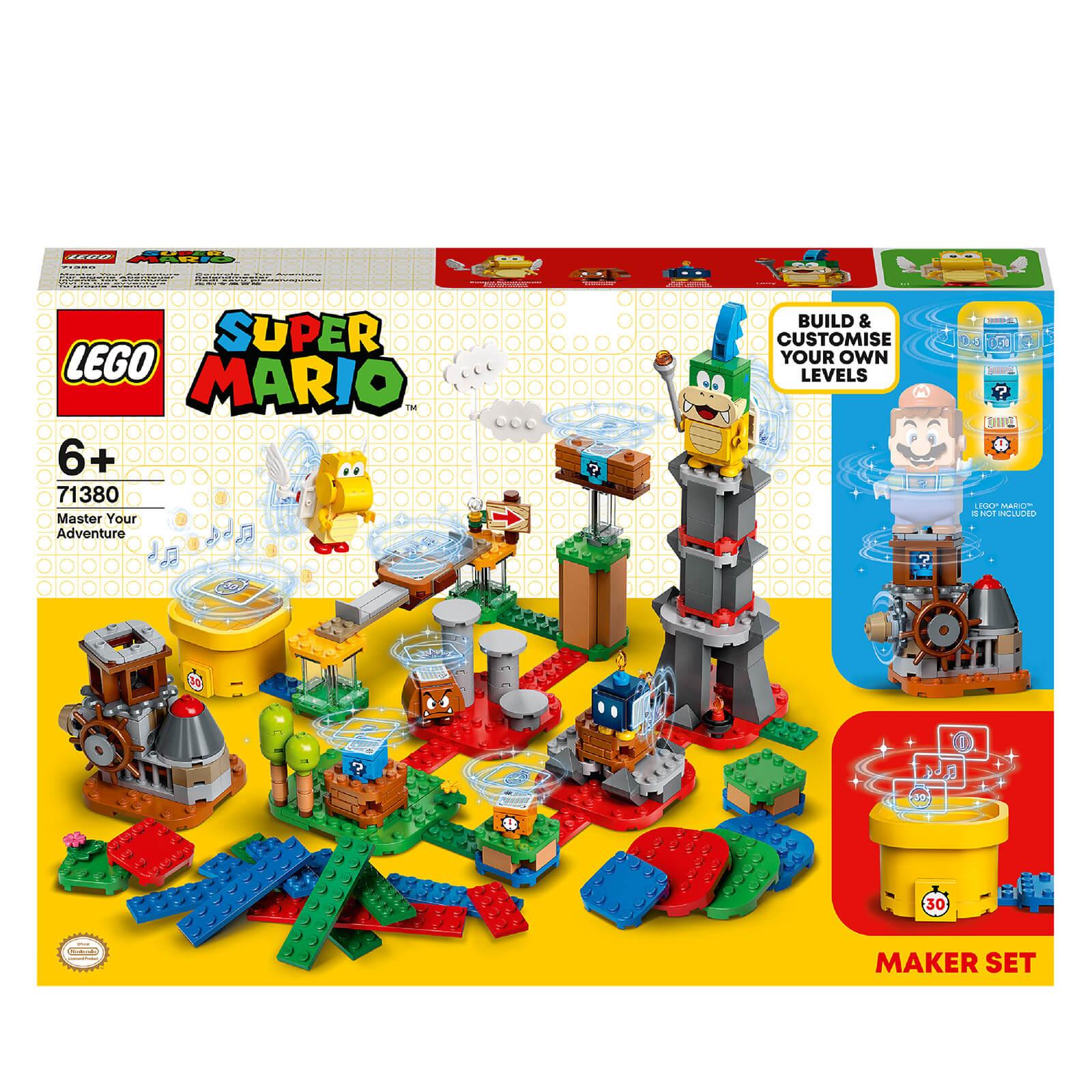 Image of LEGO Super Mario Master Your Adventure Maker Set (71380)