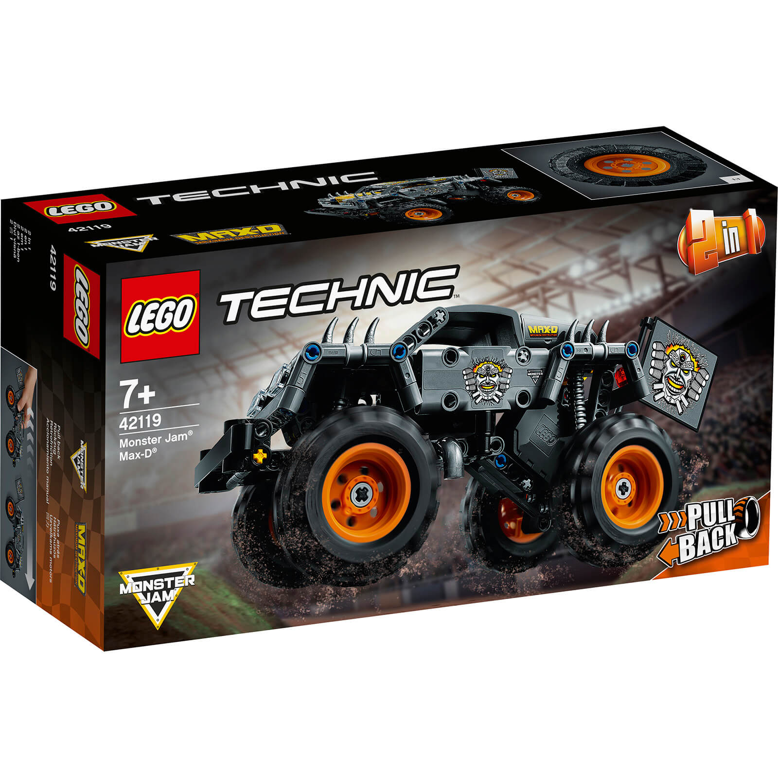 Image of LEGO Technic Monster Jam Max-D - 42119