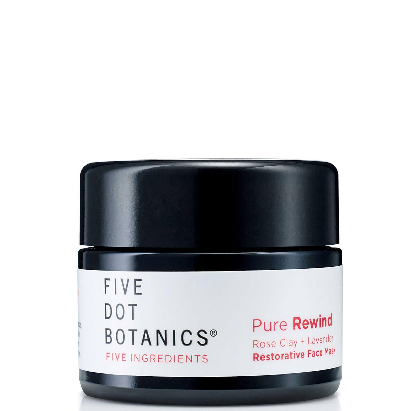 Купить Five Dot Botanics Pure Rewind Rose Clay and Lavender Restorative Face Mask 30ml