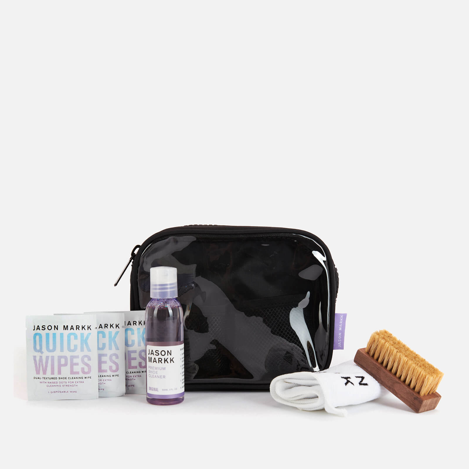 Click to view product details and reviews for Jason Markk Travel Kit Black.