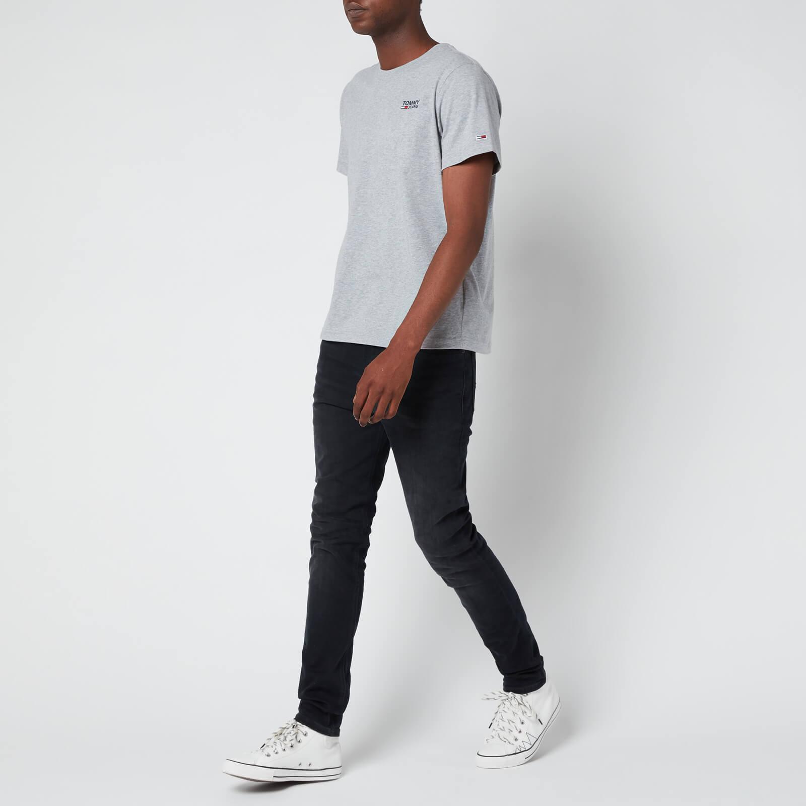 Tommy Jeans Men's Simon Skinny Fit Jeans - Dynamic Jacob Black - W32/L30