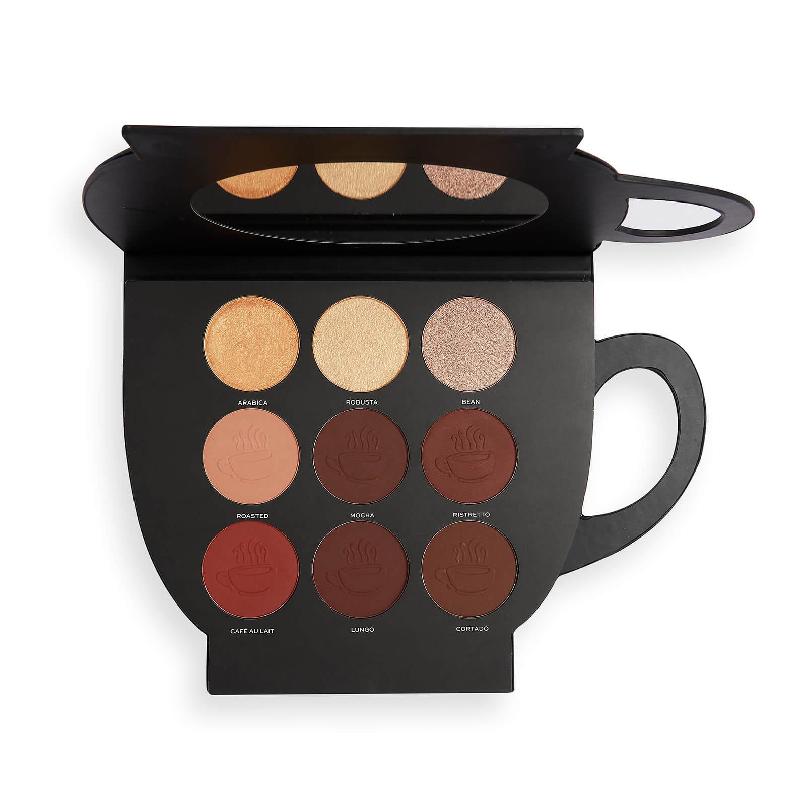 Revolution X Friends Grab a Cup Face Palette Dark to Deep