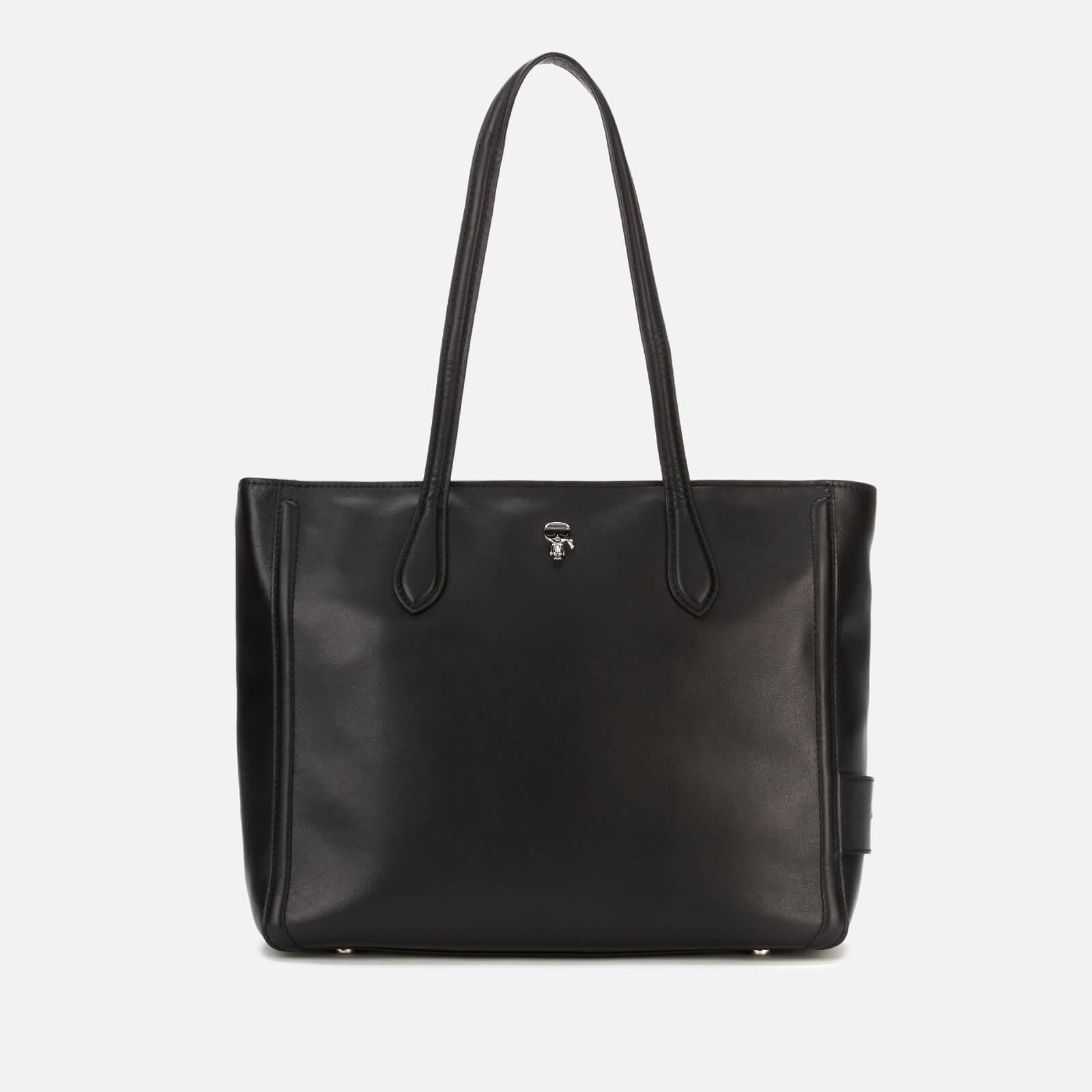 Karl Lagerfeld Women's K/Ikonik 3D Pin Tote Bag - Black