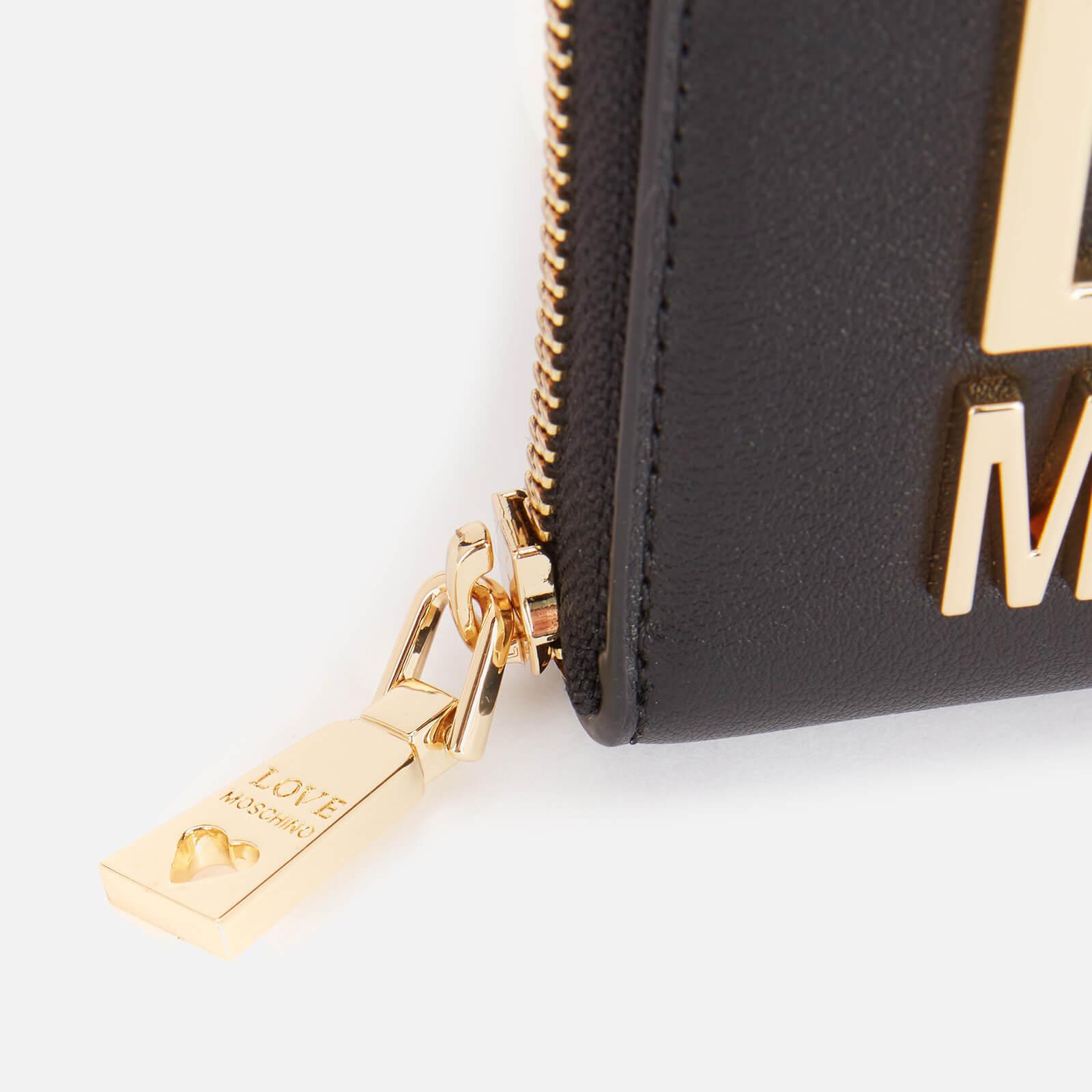Love Moschino Women's Small Logo Wallet - Black