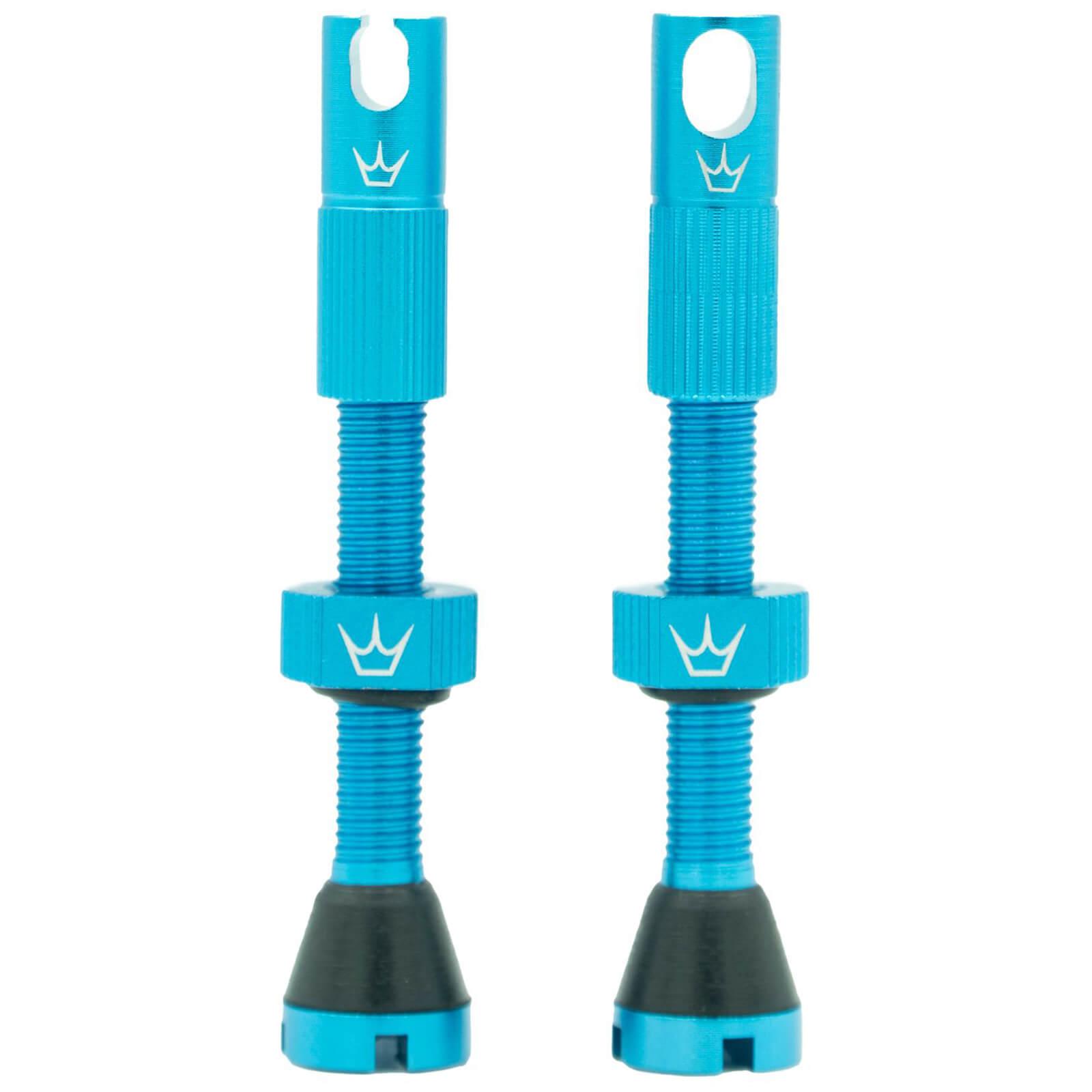 Peaty's x Chris King (MK2) Tubeless Valves - 42mm - Turquoise