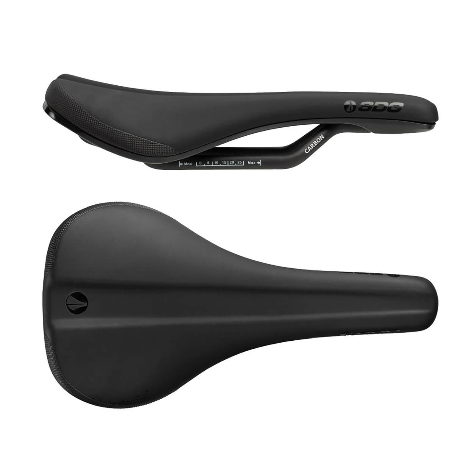 SDG Bel Air 3.0 Carbon Saddle - Schwarz