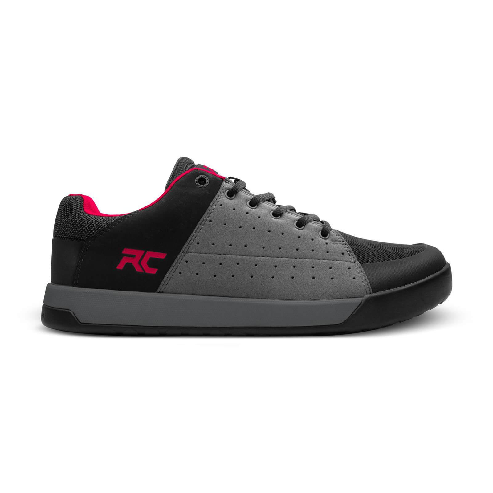 Ride Concepts Livewire Flat MTB Shoes - UK 7/EU 41 - Charcoal/Red