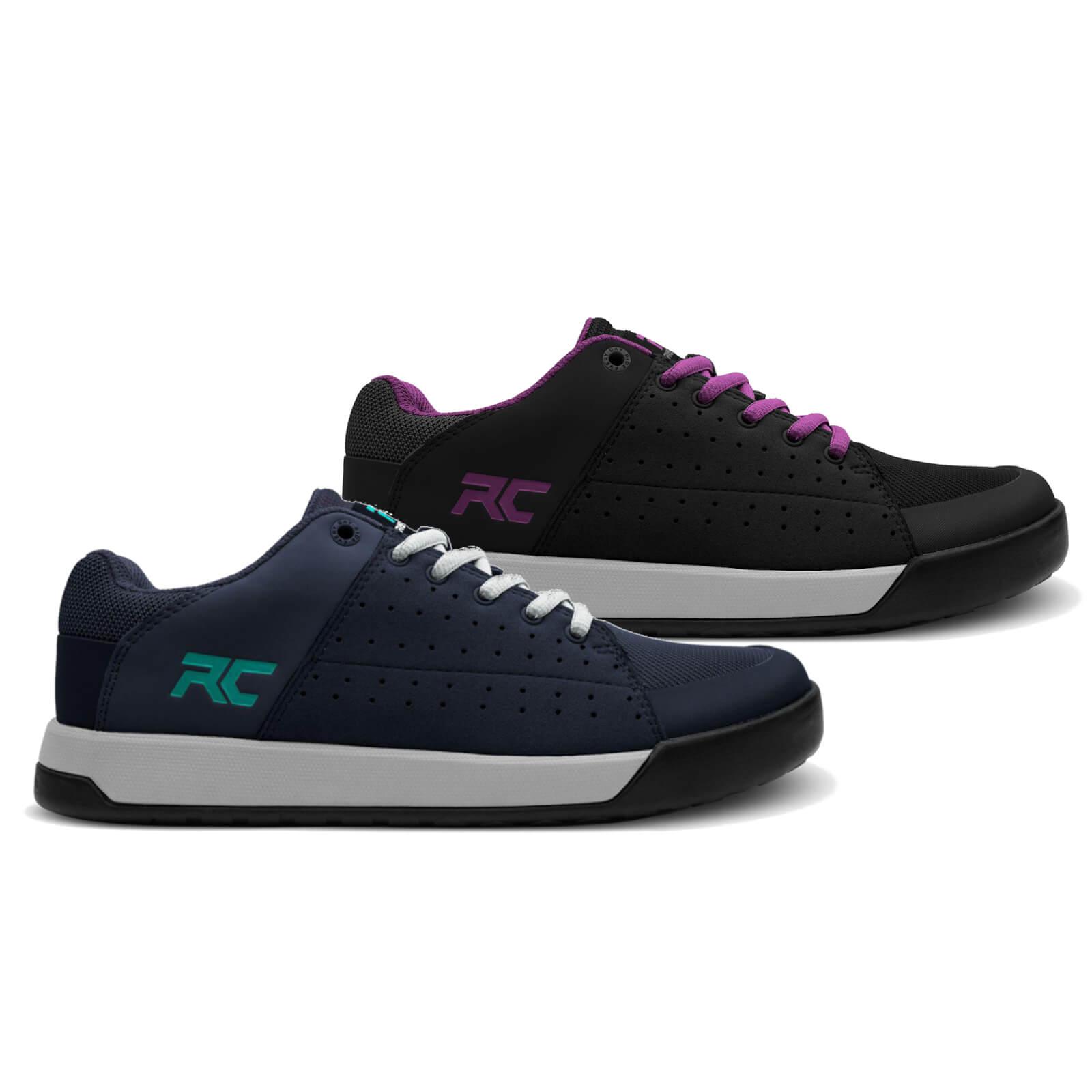 Ride Concepts Womens Livewire Flat Mtb Shoes - Uk 8/eu 41.5 - Black/purple