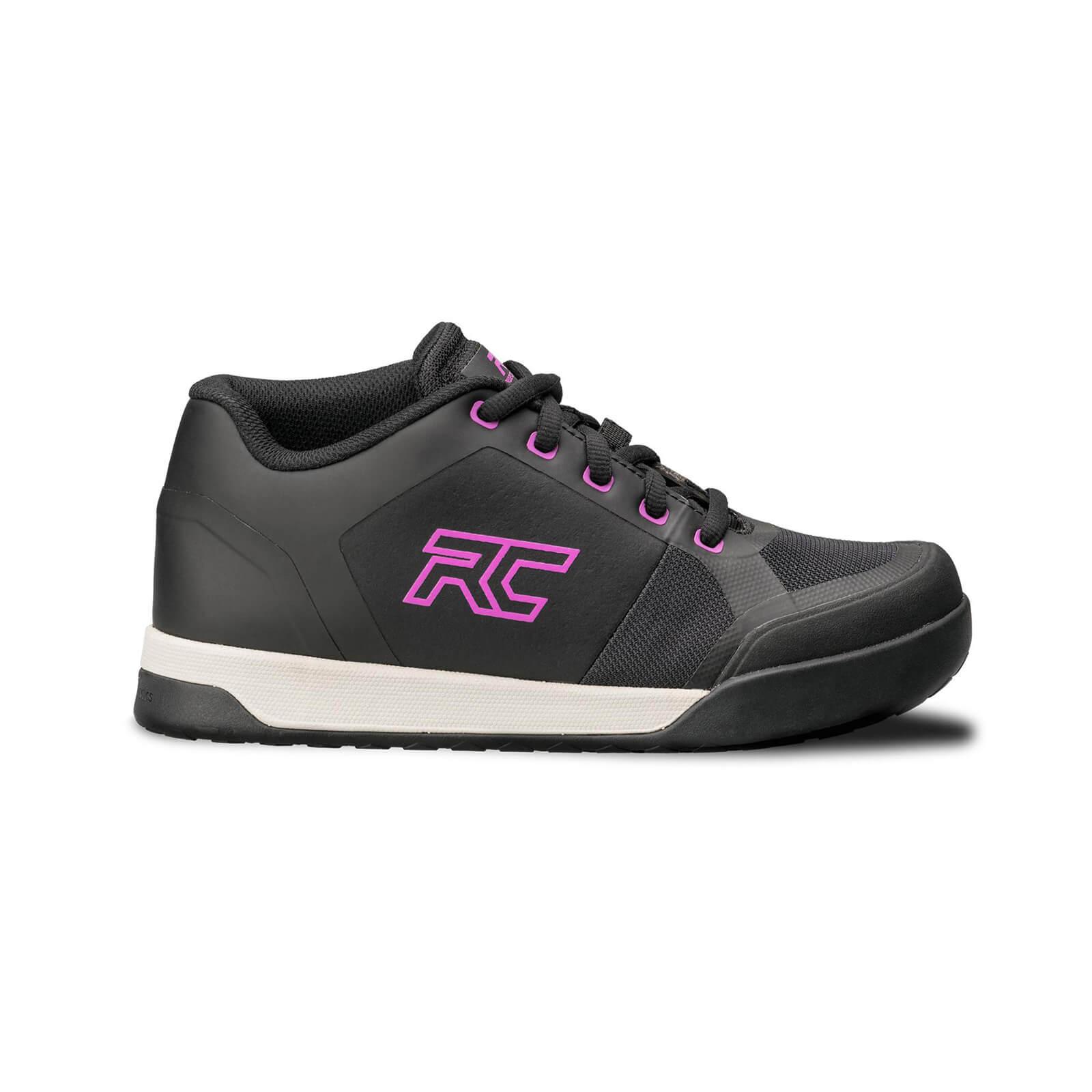 Ride Concepts Womens Skyline Flat Mtb Shoes - Black/purple - Uk 4/eu 35