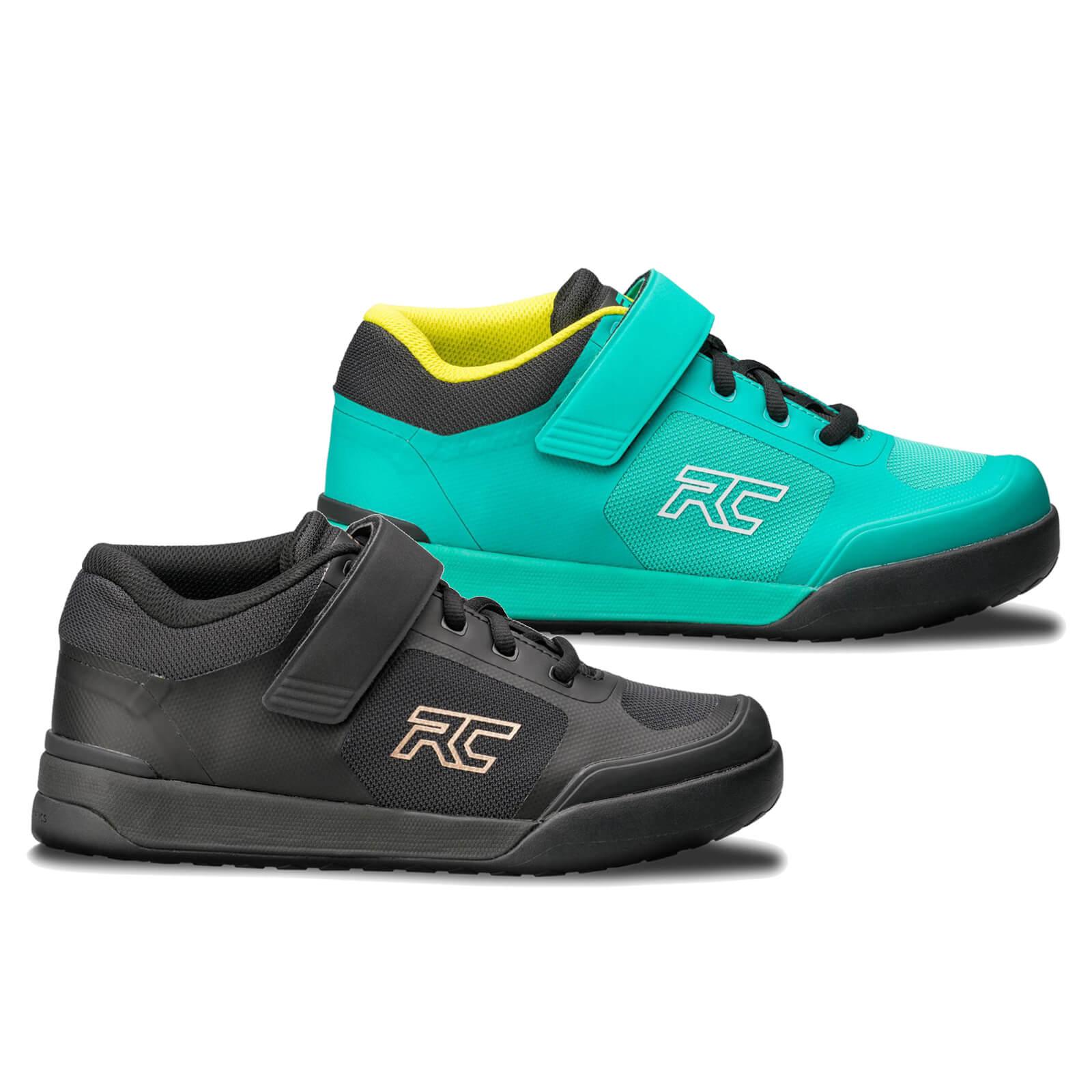 Ride Concepts Women's Traverse SPD MTB Shoes - UK 5/EU 36 - Teal/Lime