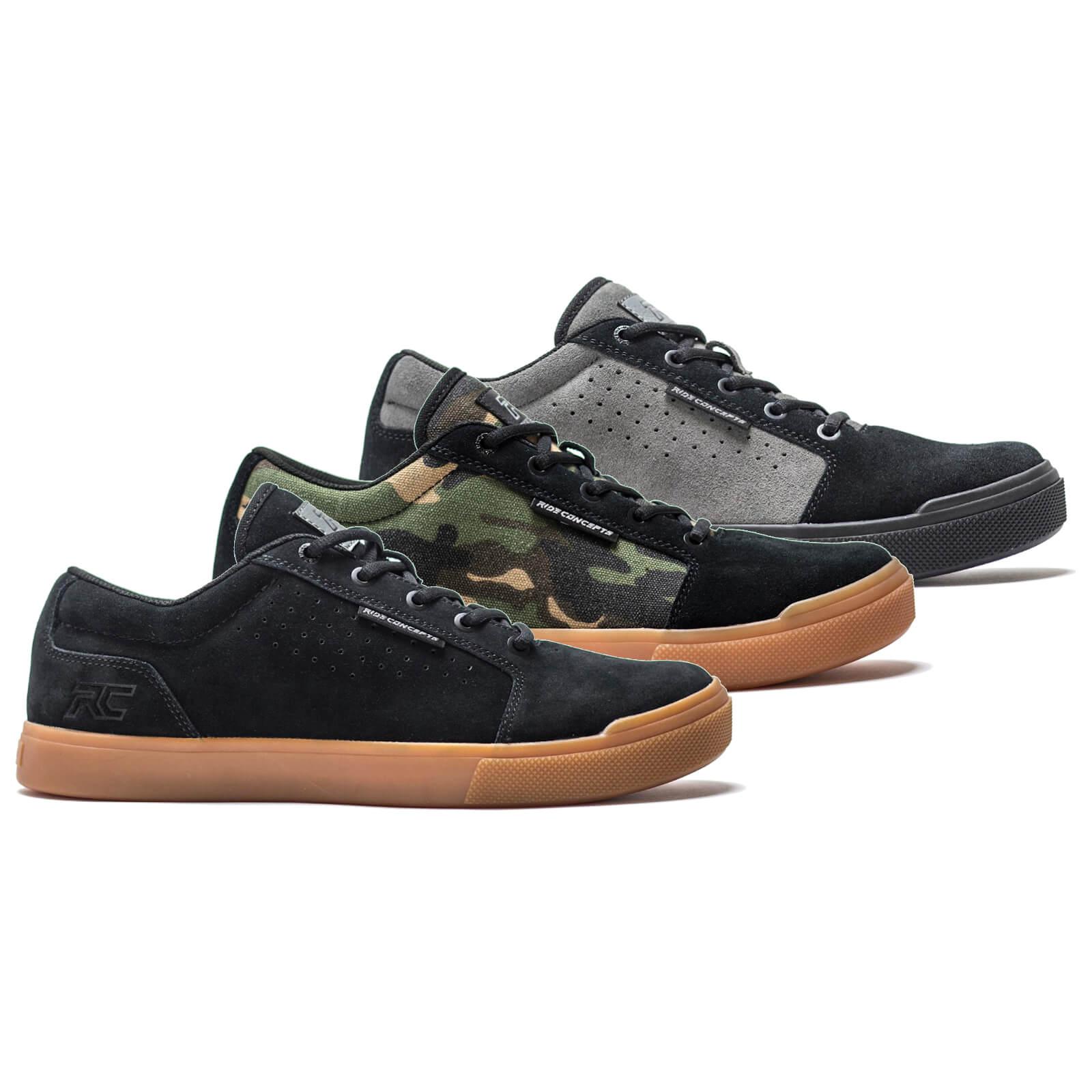 Ride Concepts Vice Flat MTB Shoes - UK 11/EU 45 - Schwarz