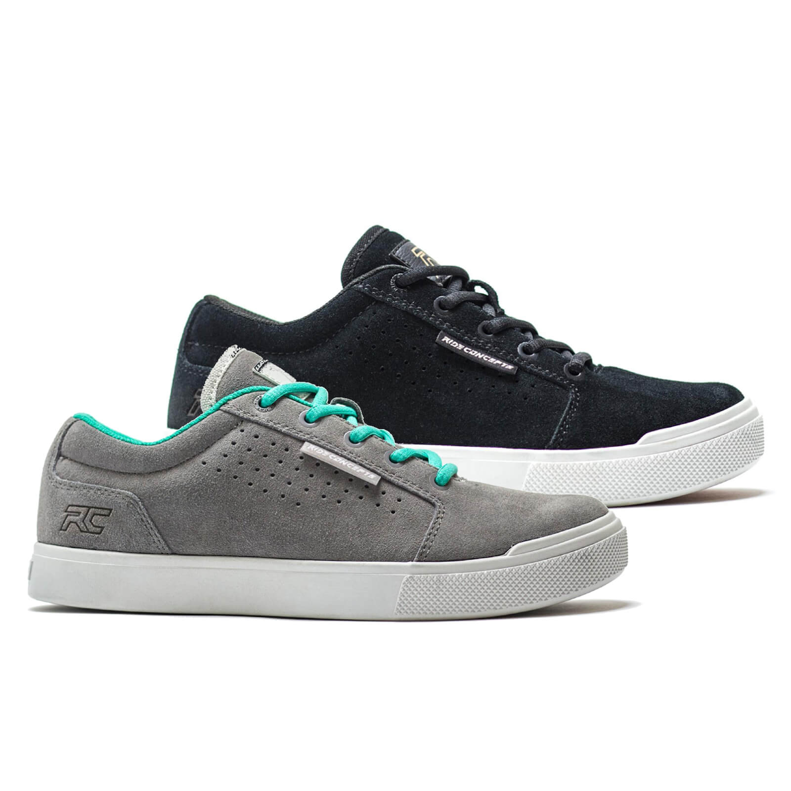 Ride Concepts Women's Vice Flat MTB Shoes - UK 5/EU 36 - Black