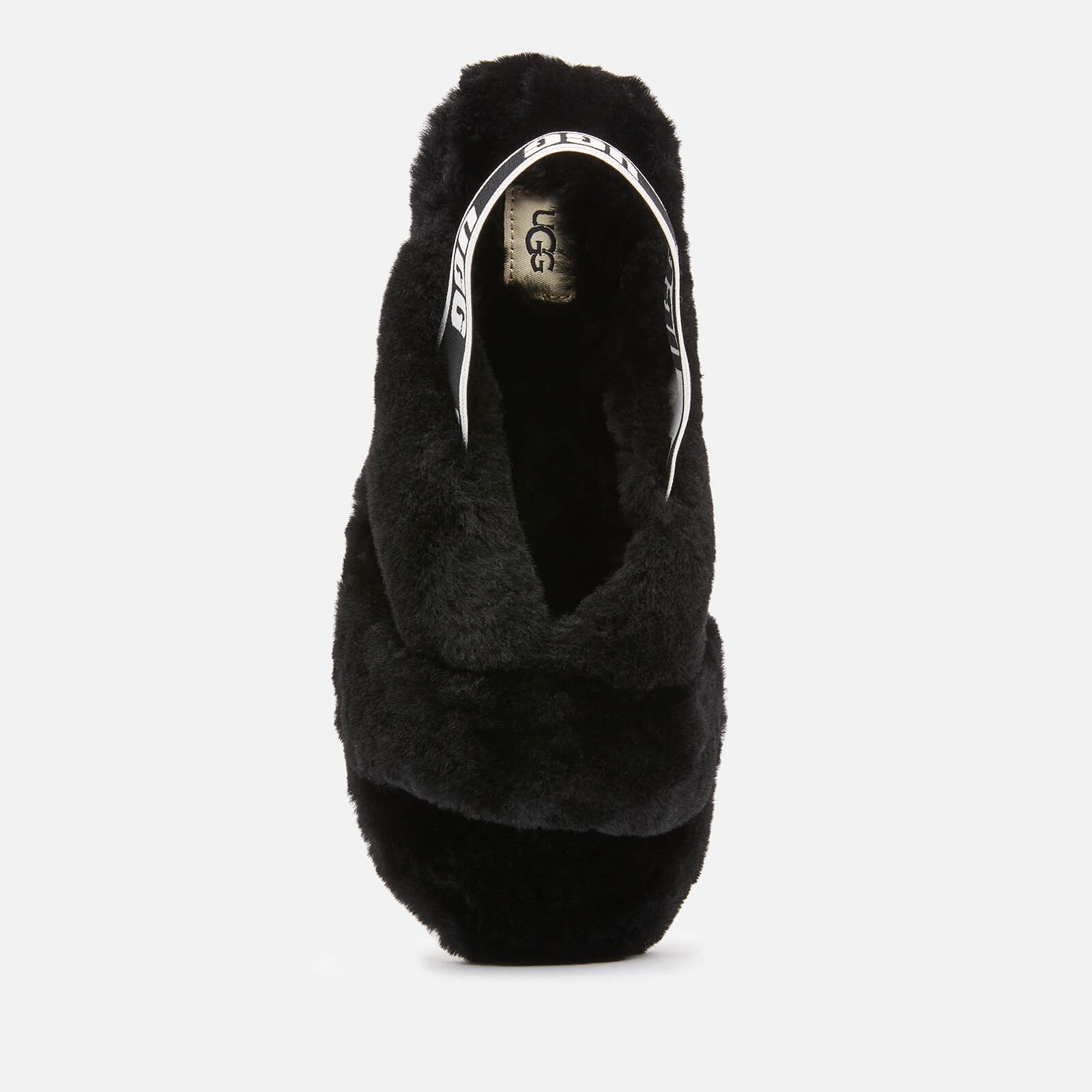 Ugg Women's Fab Yeah Sheepskin Slippers - Black - Uk 3